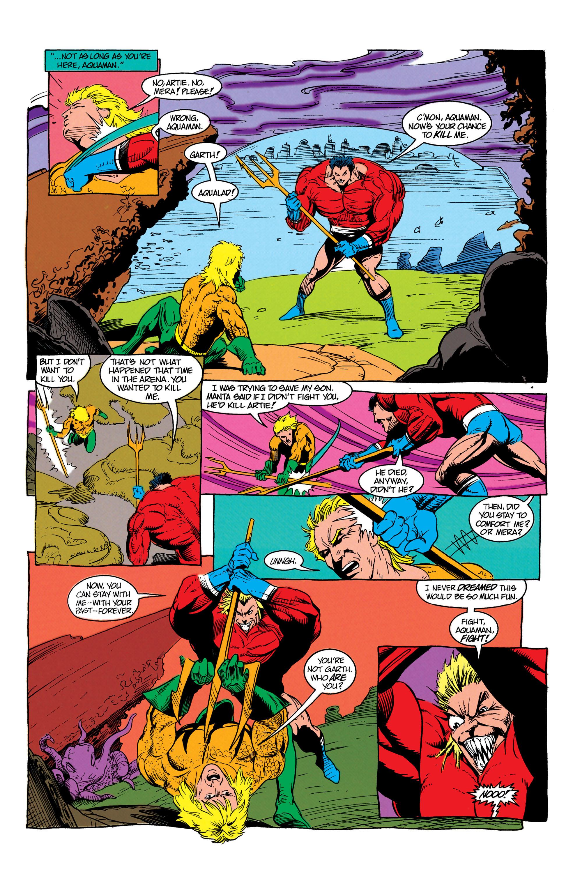 Read online Aquaman (1991) comic -  Issue #7 - 11