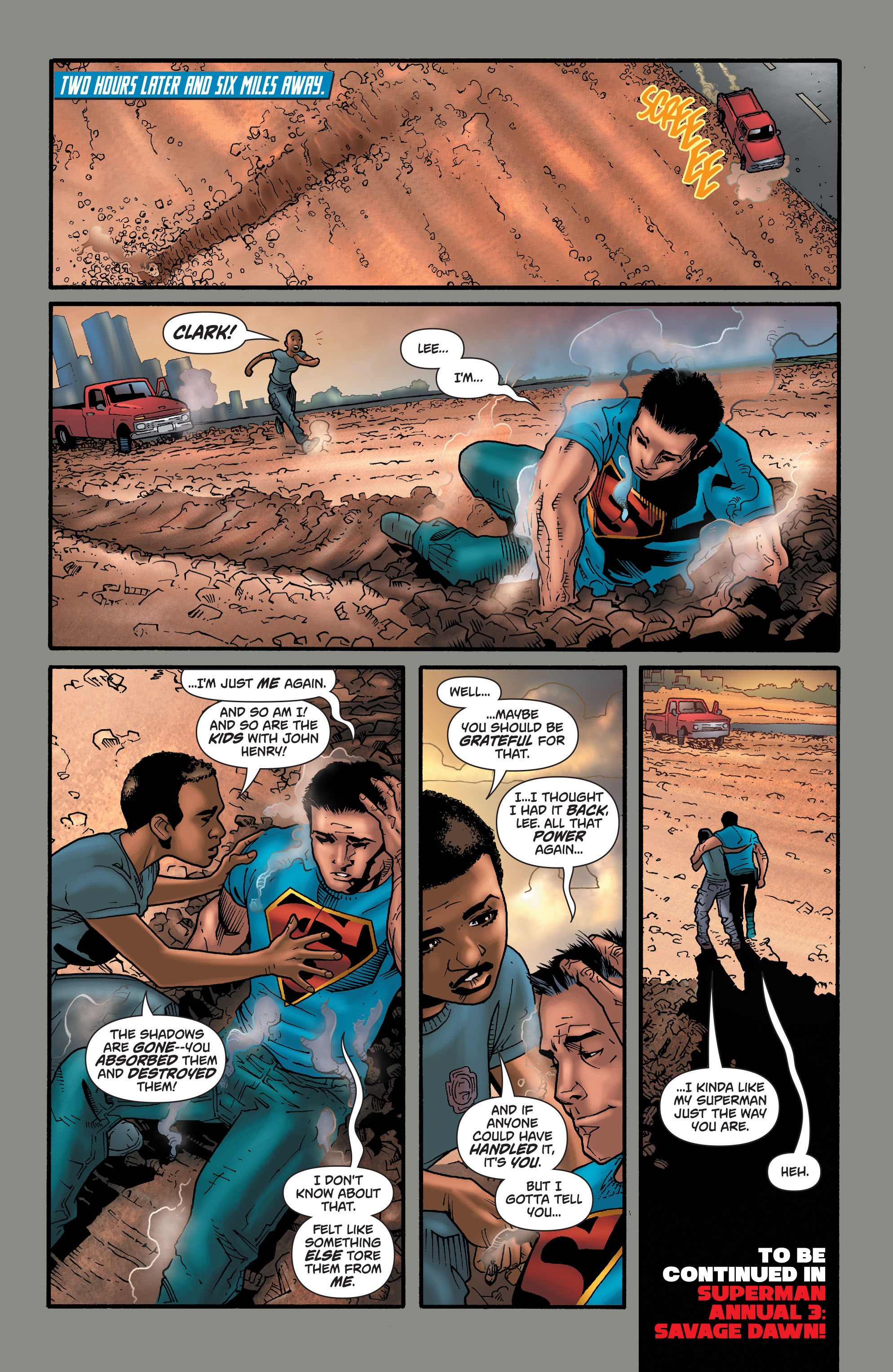 Read online Action Comics (2011) comic -  Issue #47 - 24
