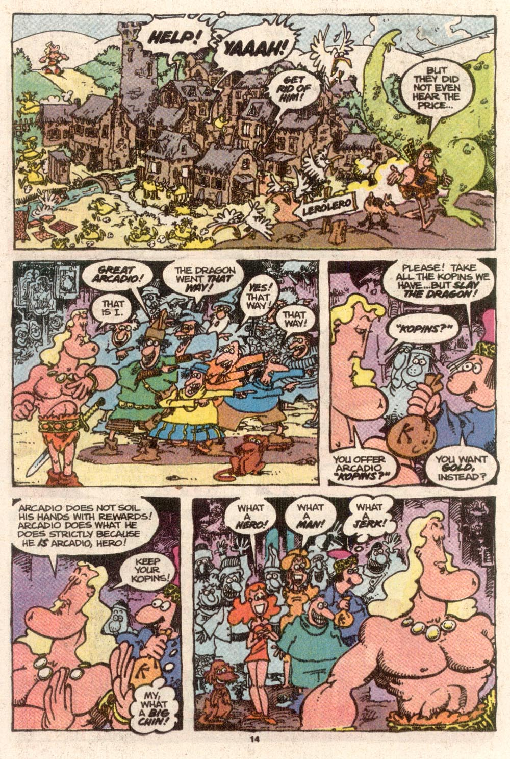 Read online Sergio Aragonés Groo the Wanderer comic -  Issue #68 - 11