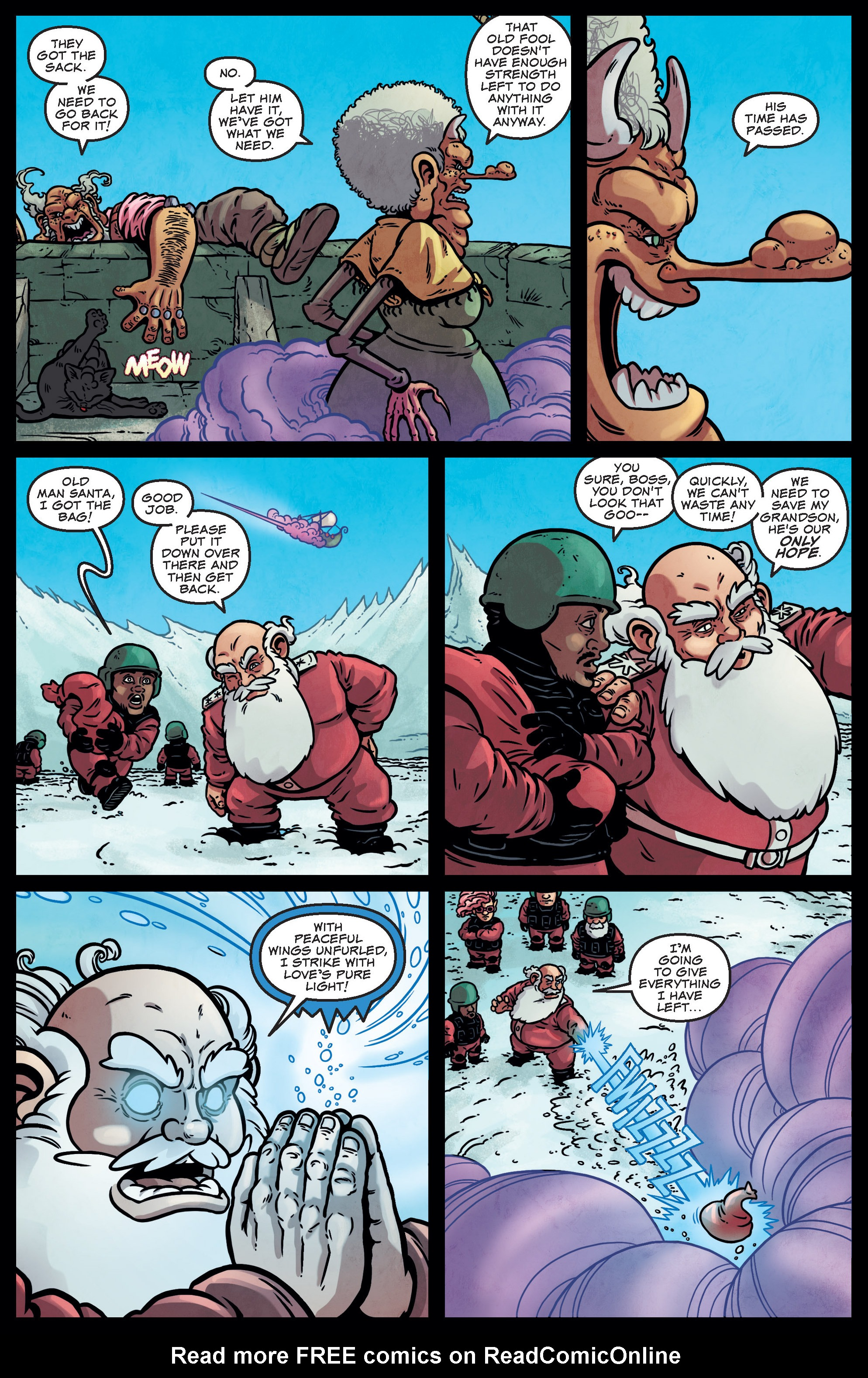 Read online Sleigher comic -  Issue #3 - 21