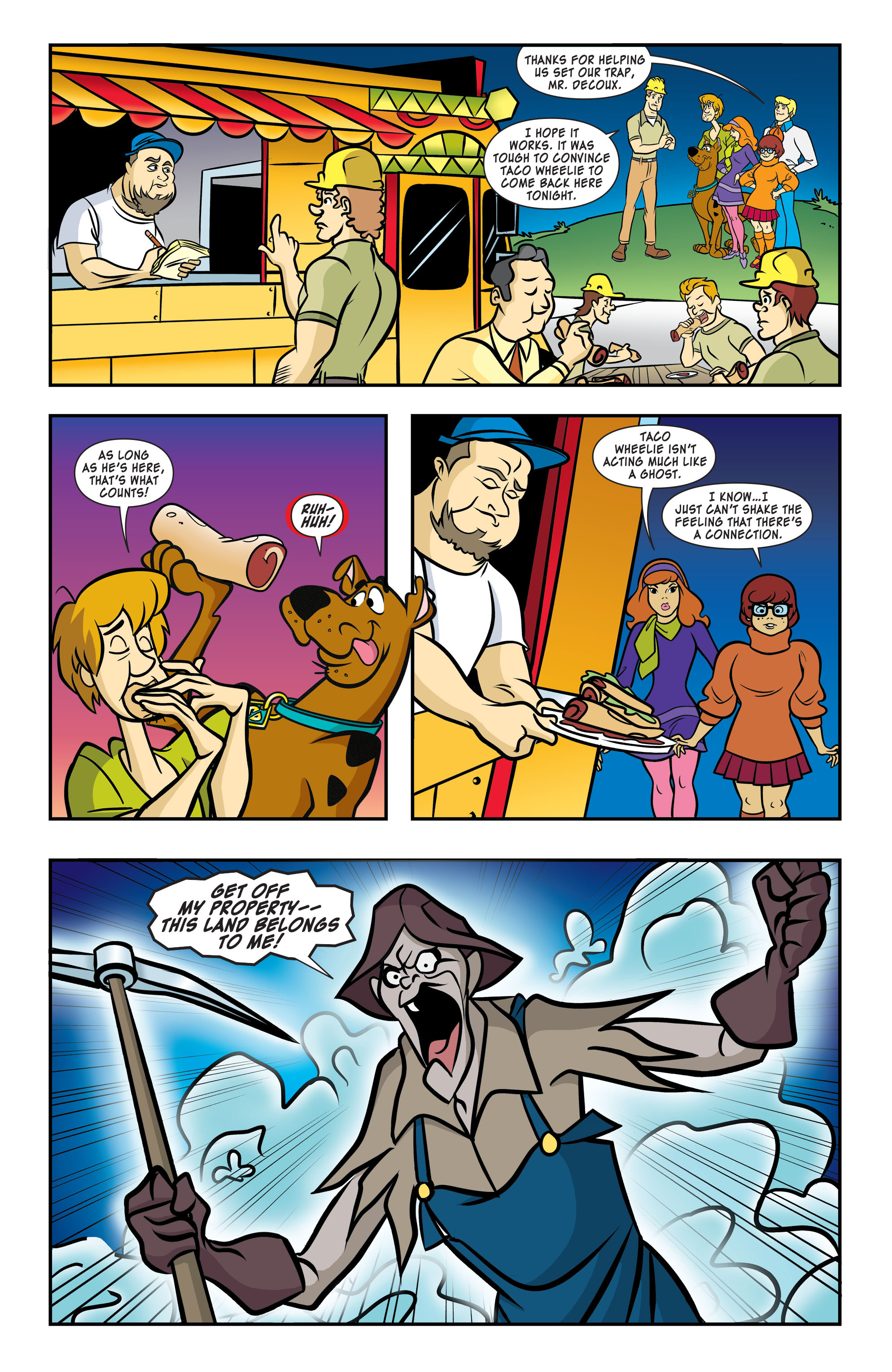 Read online Scooby-Doo: Where Are You? comic -  Issue #58 - 9