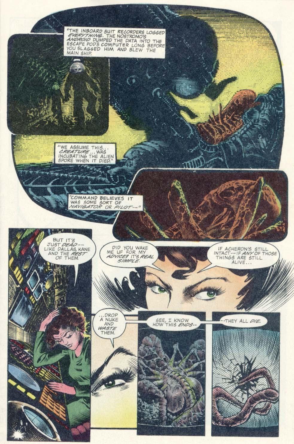 Read online Aliens: Earth War comic -  Issue #1 - 11