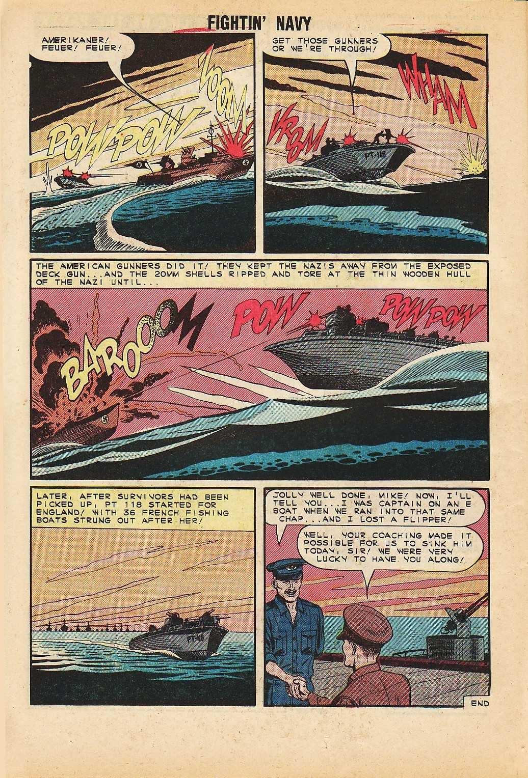 Read online Fightin' Navy comic -  Issue #116 - 16