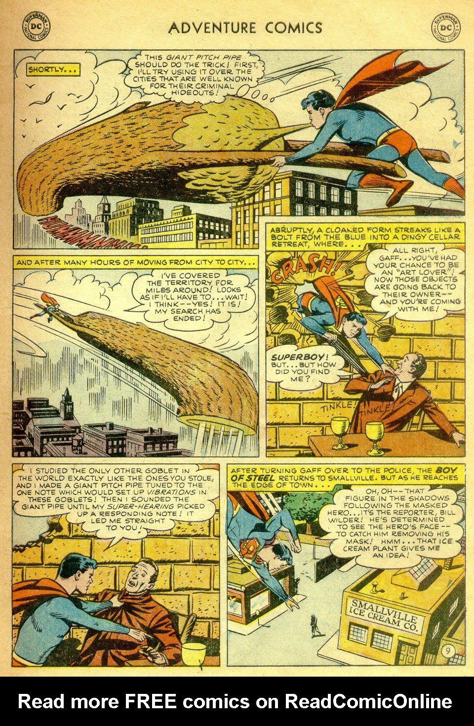 Read online Adventure Comics (1938) comic -  Issue #181 - 10