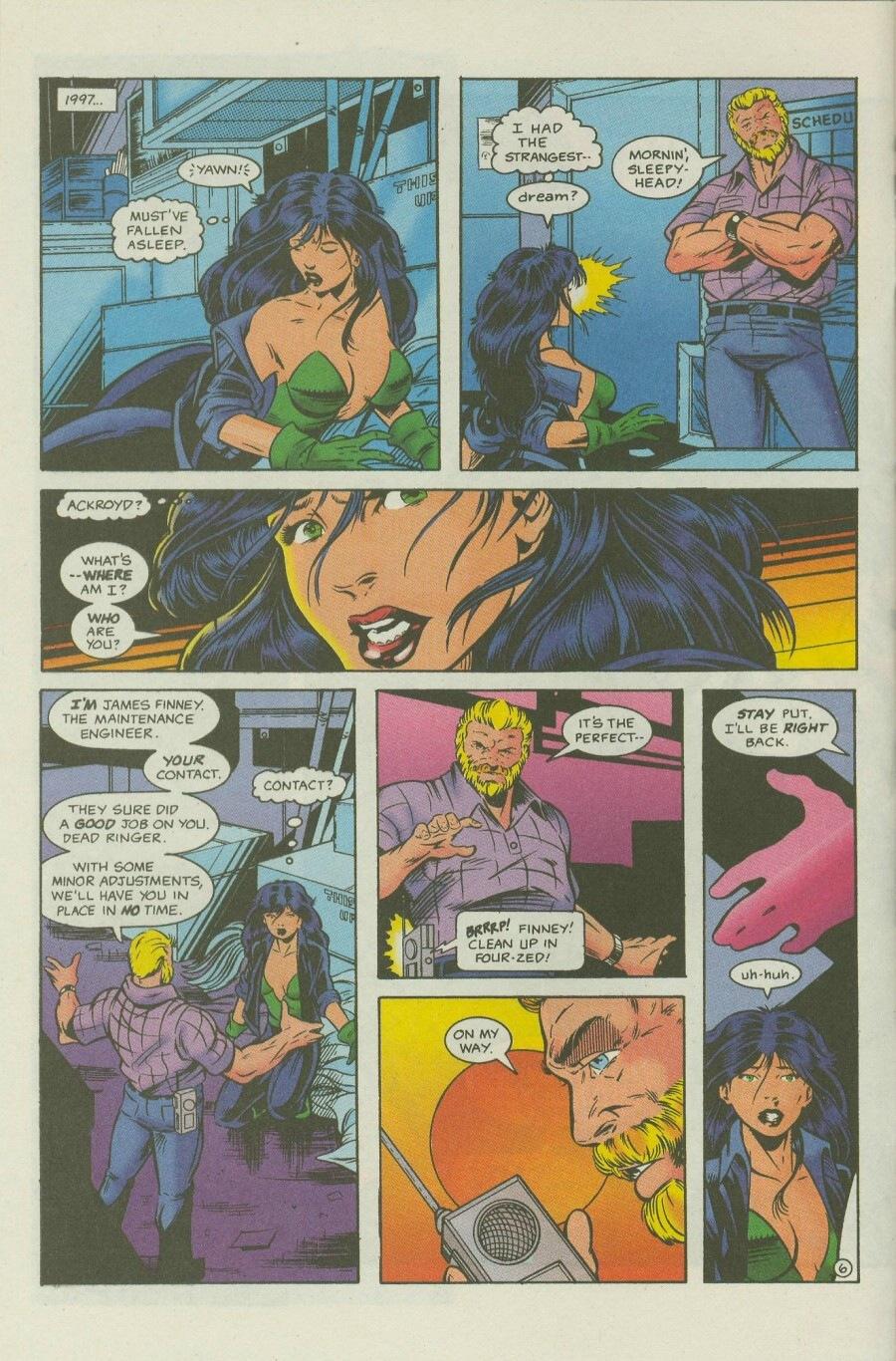 Read online Ex-Mutants comic -  Issue #7 - 7