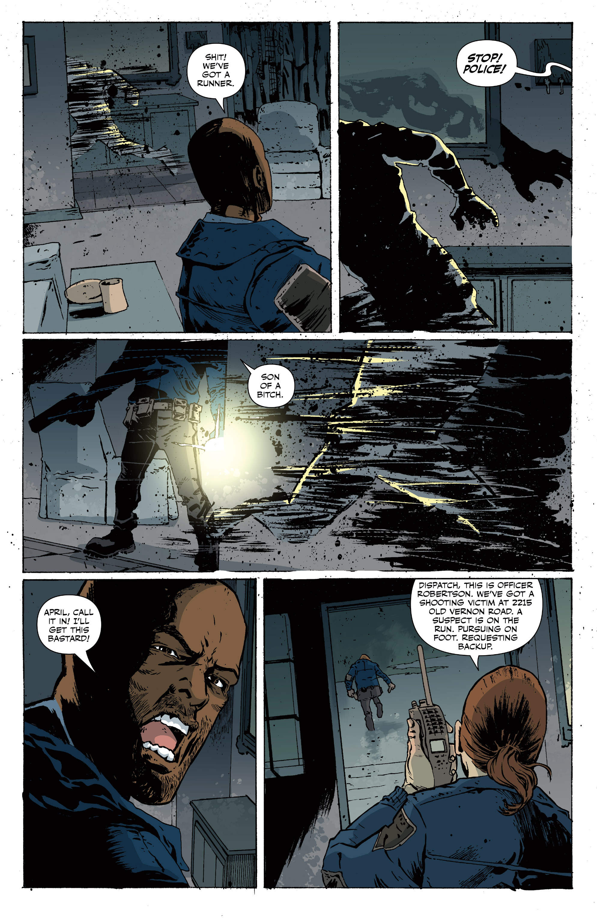 Read online Sheltered comic -  Issue #11 - 22
