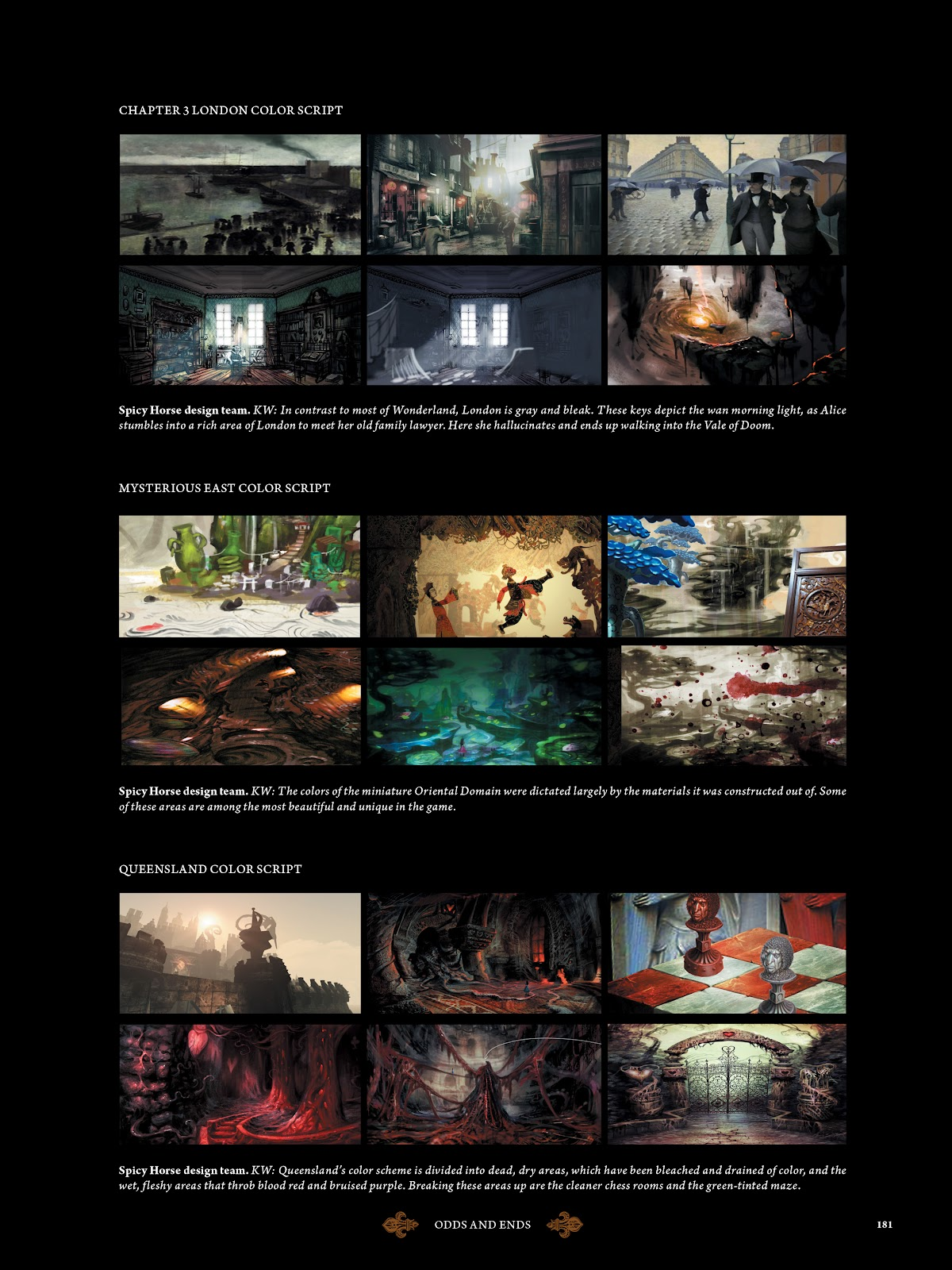 Read online The Art of Alice: Madness Returns comic -  Issue # TPB (Part 2) - 72