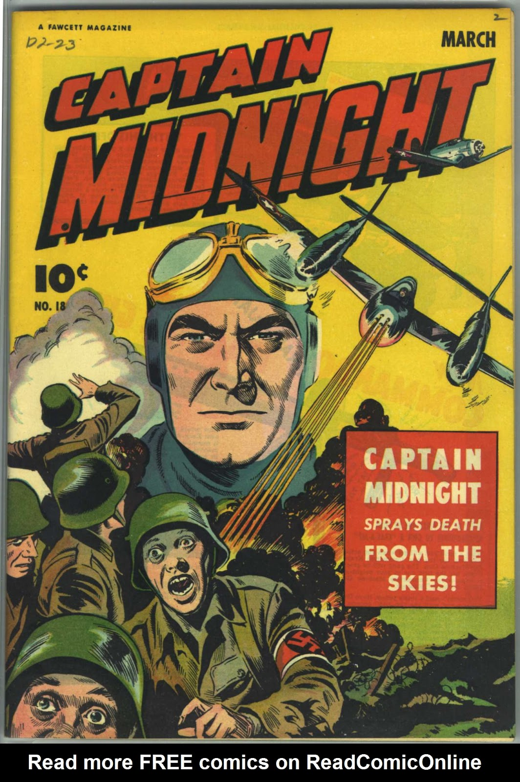 Captain Midnight (1942) issue 18 - Page 1