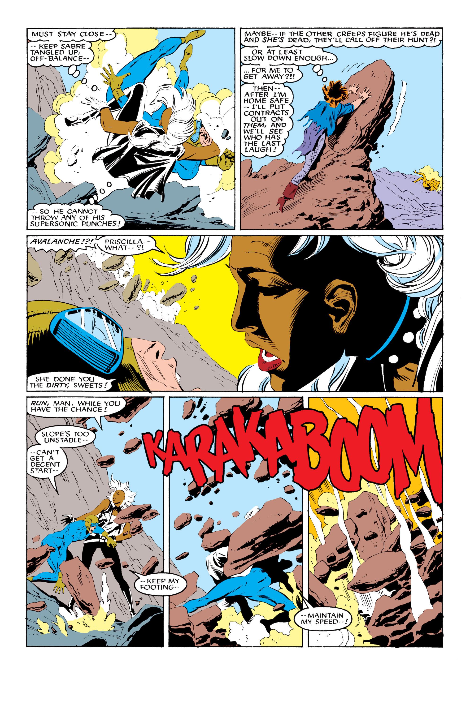 Read online Uncanny X-Men (1963) comic -  Issue #216 - 14
