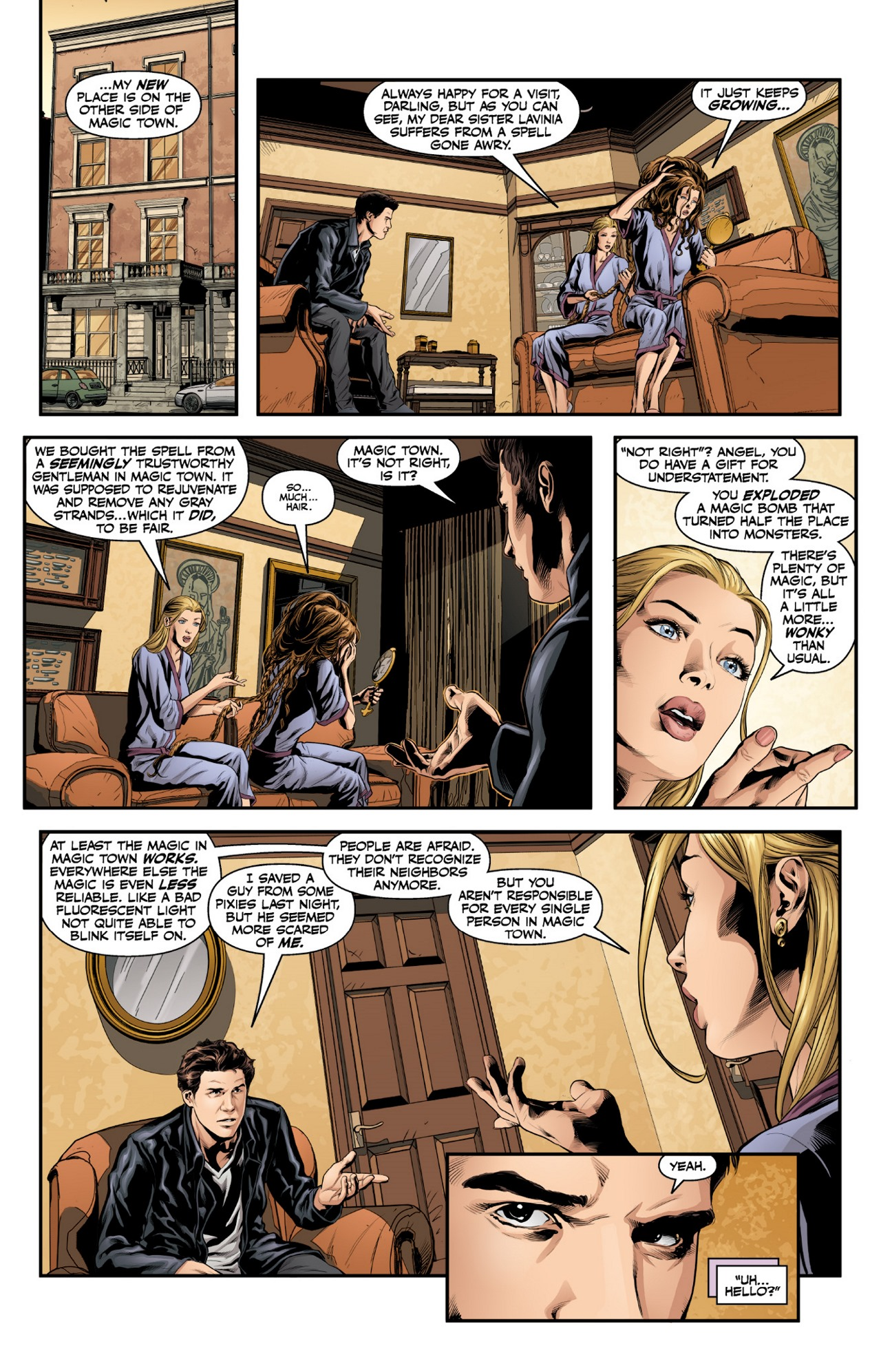 Read online Angel & Faith Season 10 comic -  Issue #1 - 12