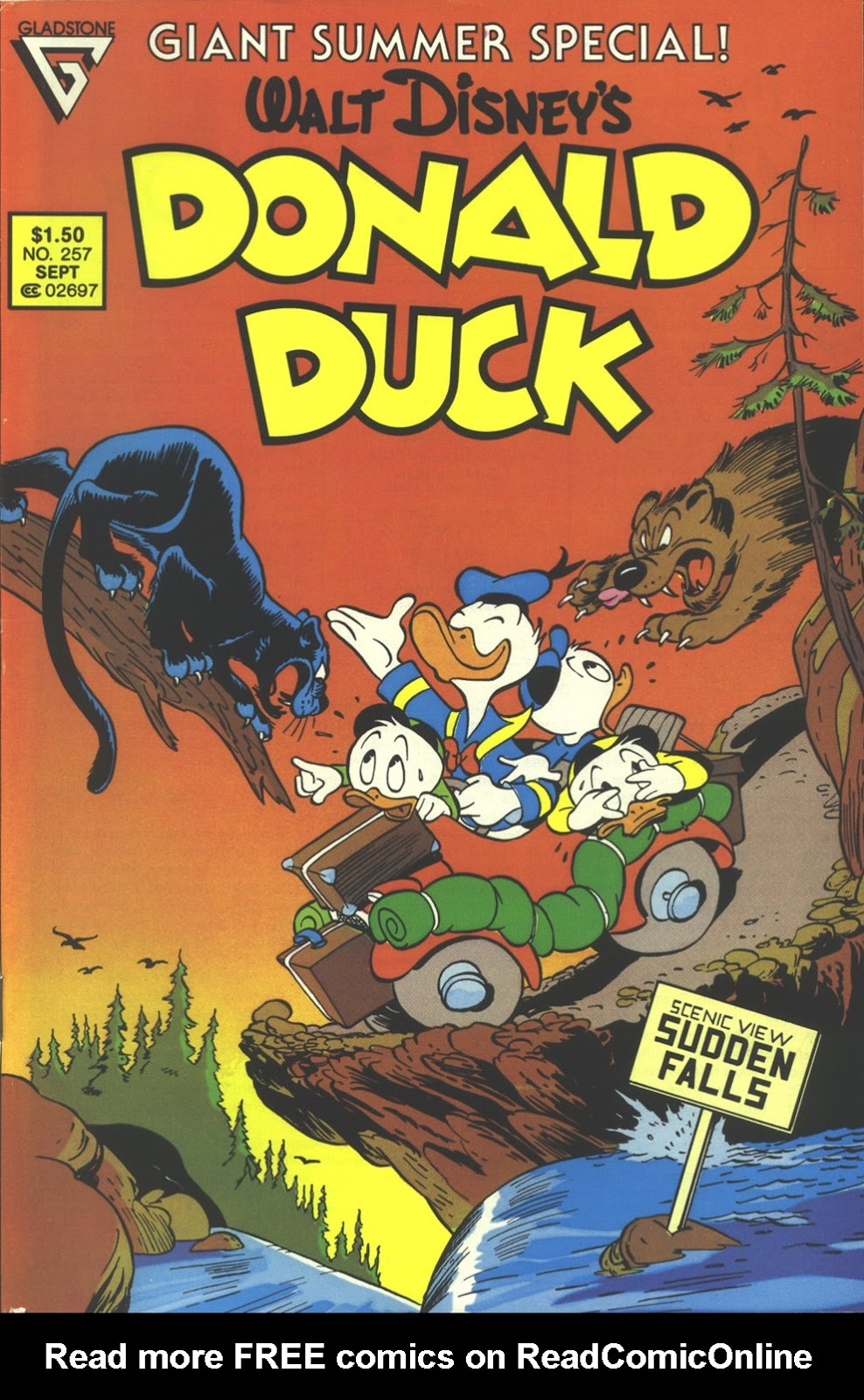 Walt Disney's Donald Duck (1952) issue 257 - Page 1