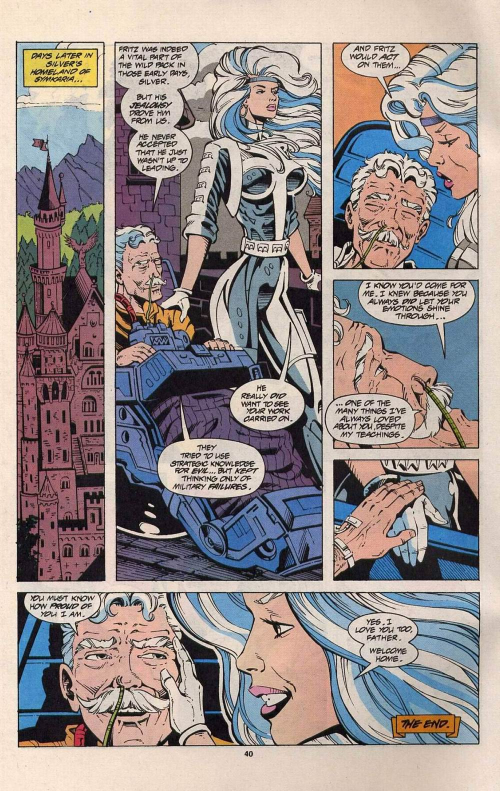 Read online Silver Sable and the Wild Pack comic -  Issue #25 - 33