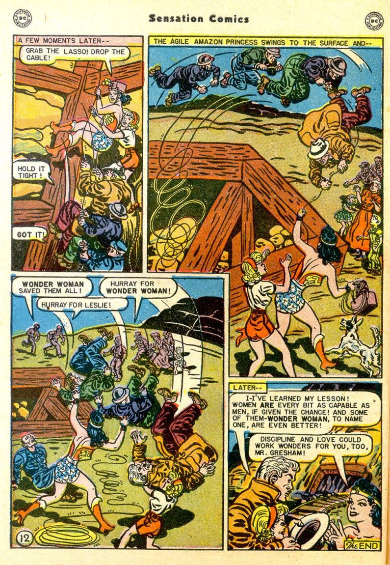 Read online Sensation (Mystery) Comics comic -  Issue #85 - 13