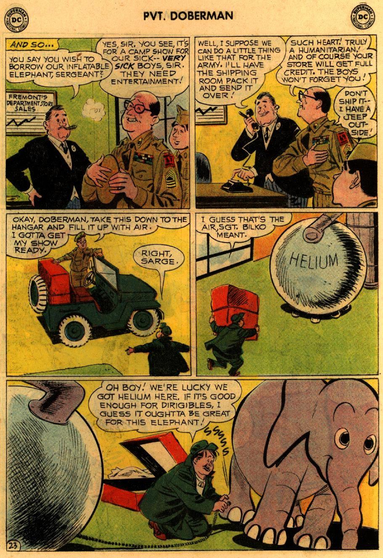 Sgt. Bilko's Pvt. Doberman issue 9 - Page 29
