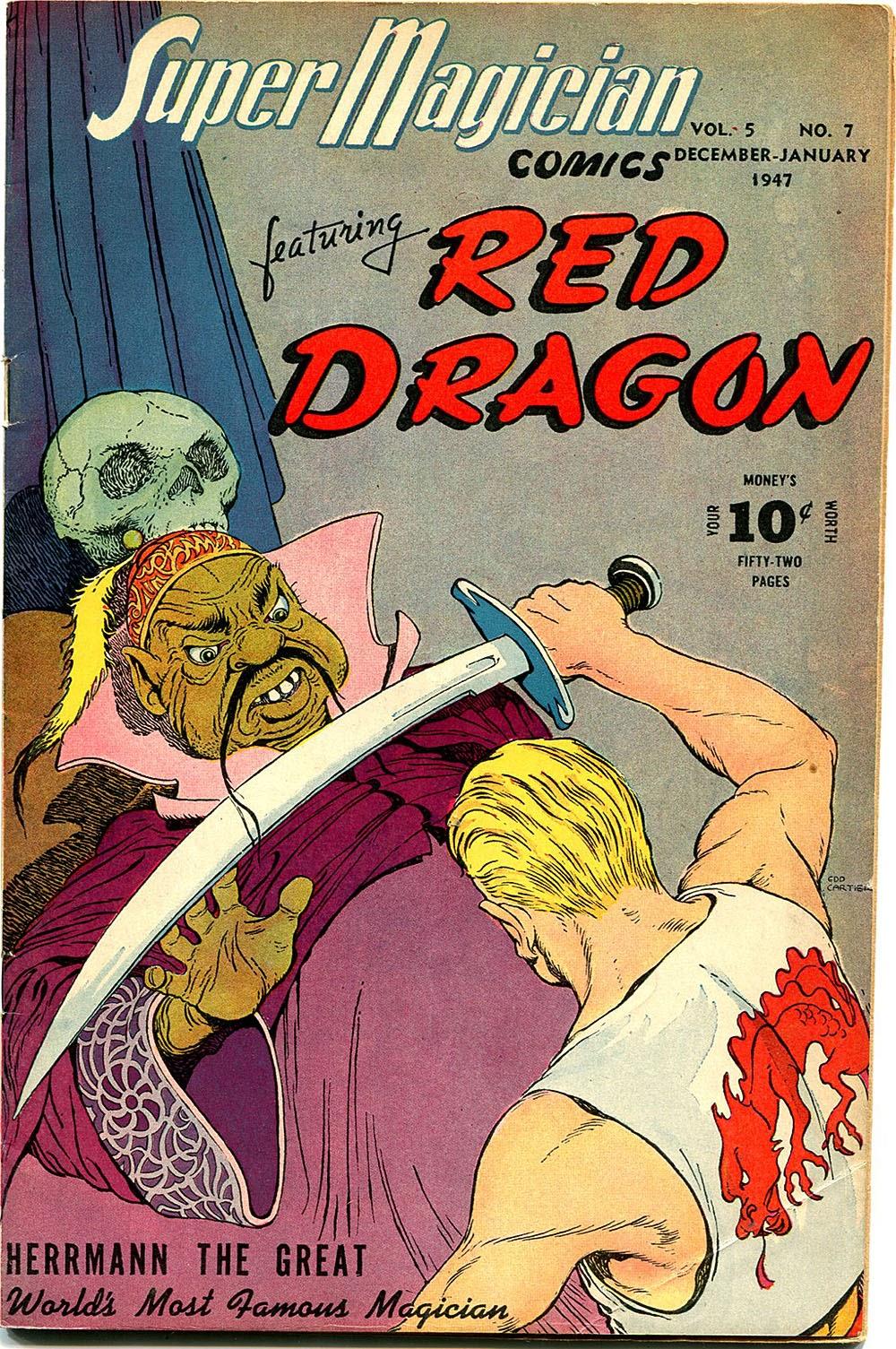 Read online Super-Magician Comics comic -  Issue #55 - 1