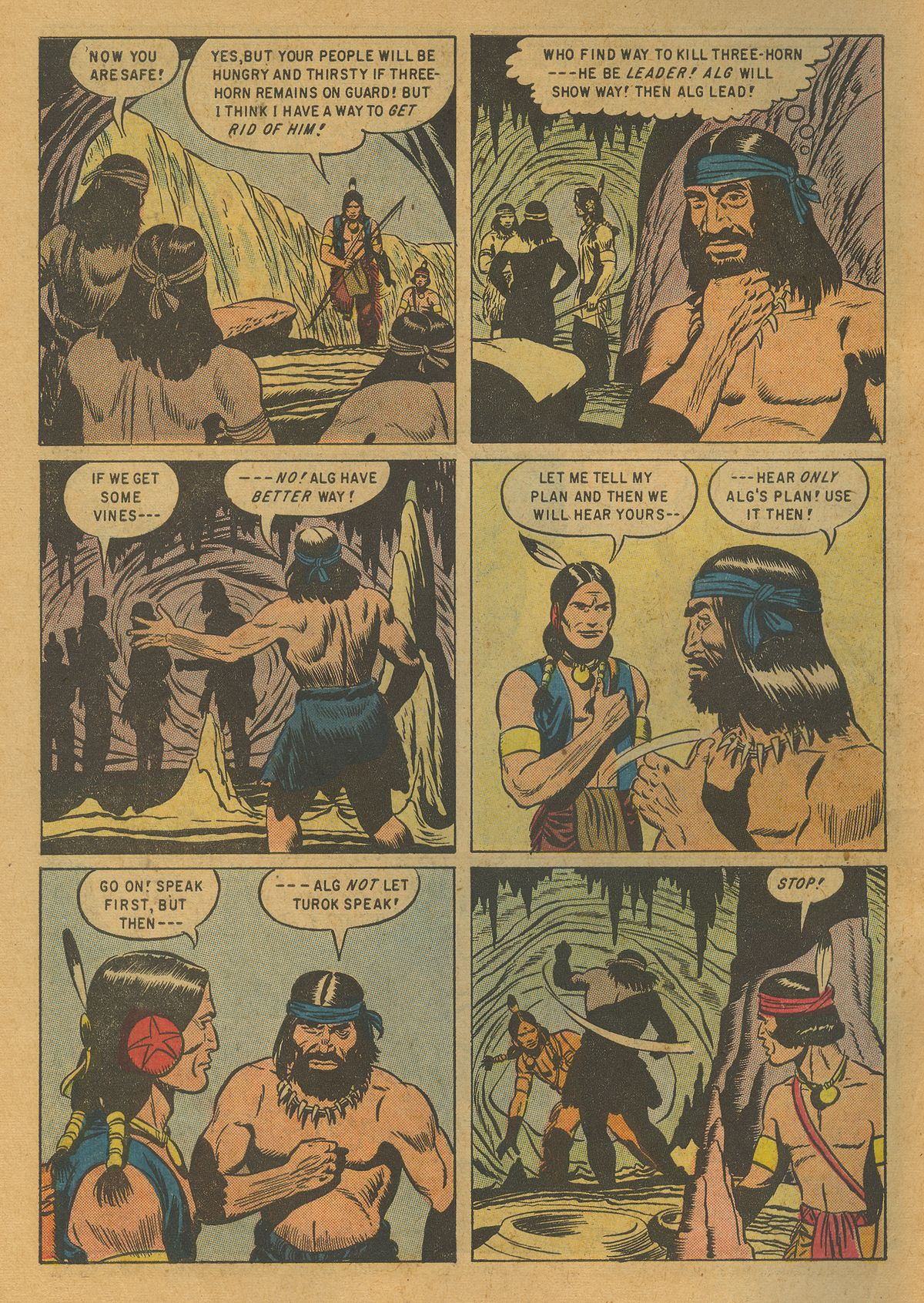 Read online Turok, Son of Stone comic -  Issue #10 - 6