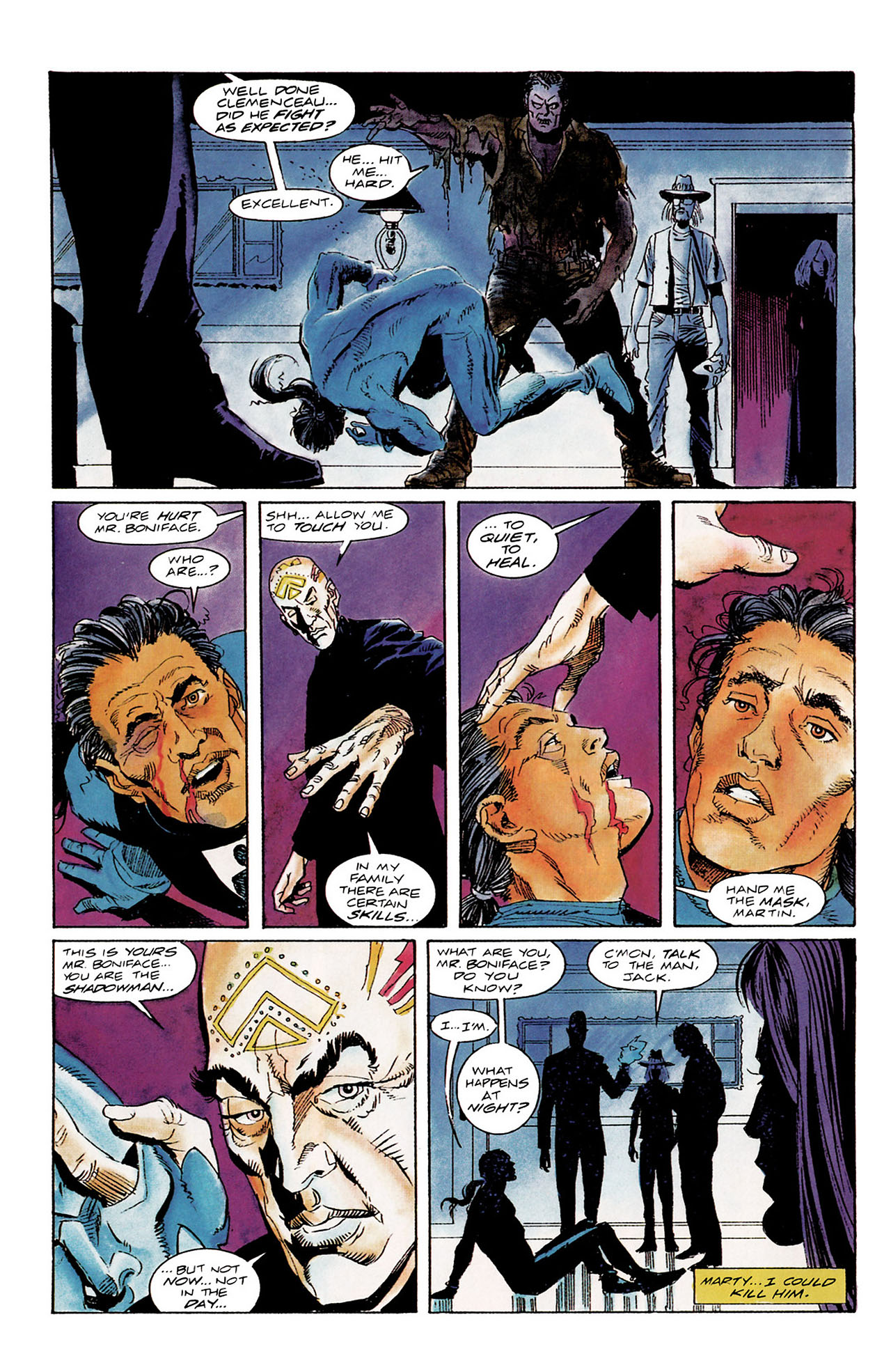 Read online Shadowman (1992) comic -  Issue #10 - 12