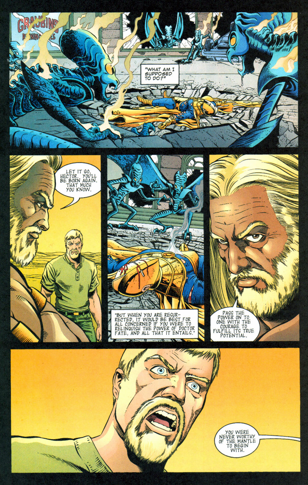 Read online Doctor Fate (2003) comic -  Issue #4 - 15