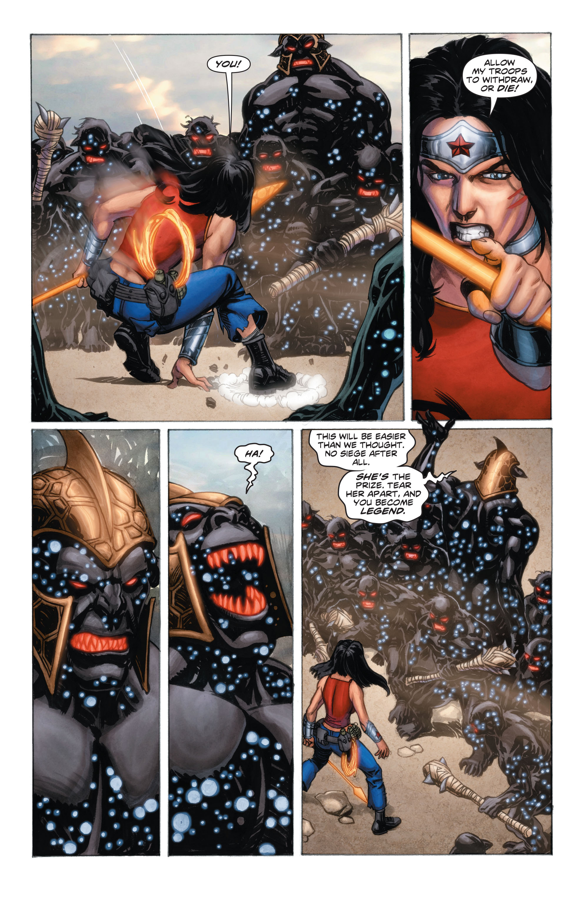 Read online Wonder Woman: Futures End comic -  Issue # Full - 6
