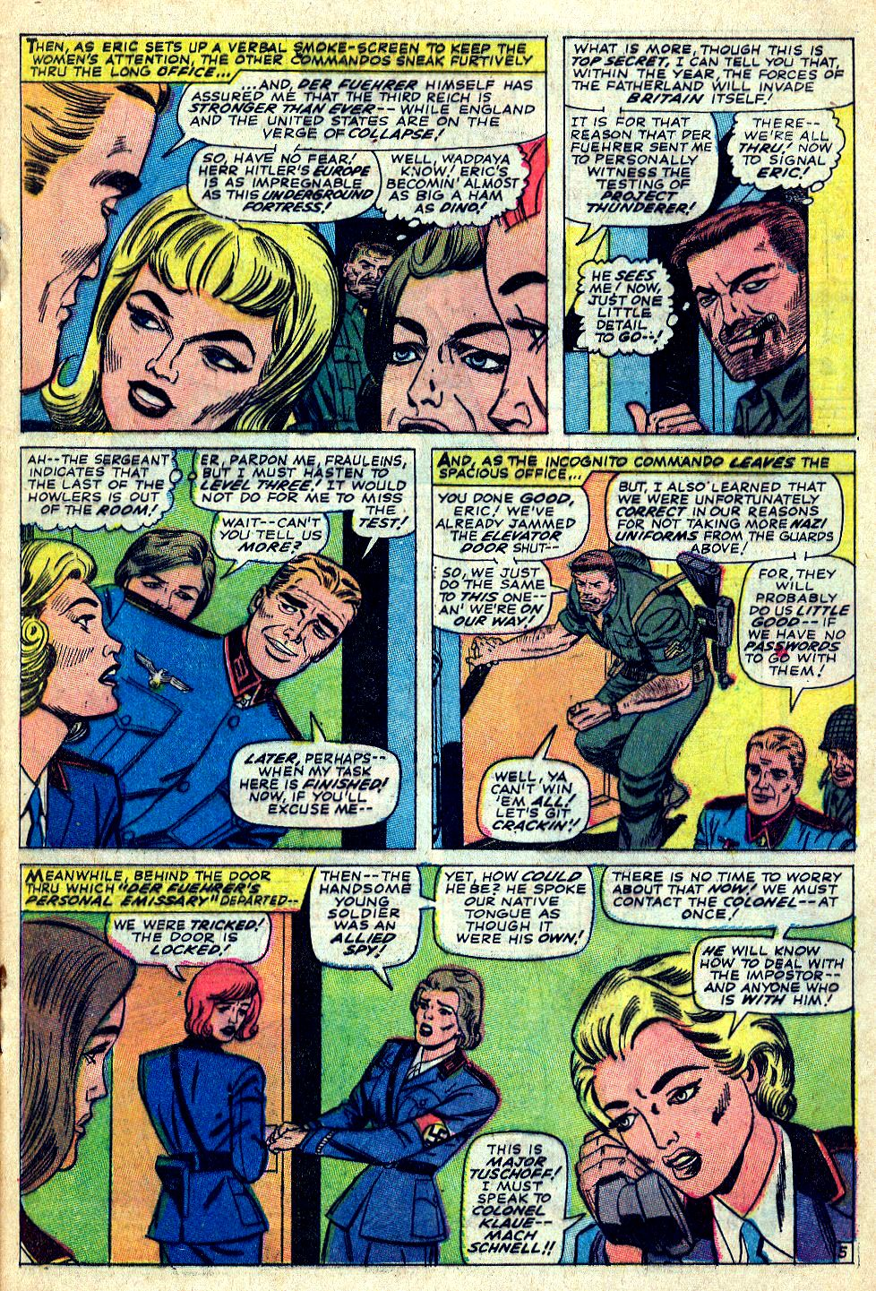 Read online Sgt. Fury comic -  Issue #39 - 9