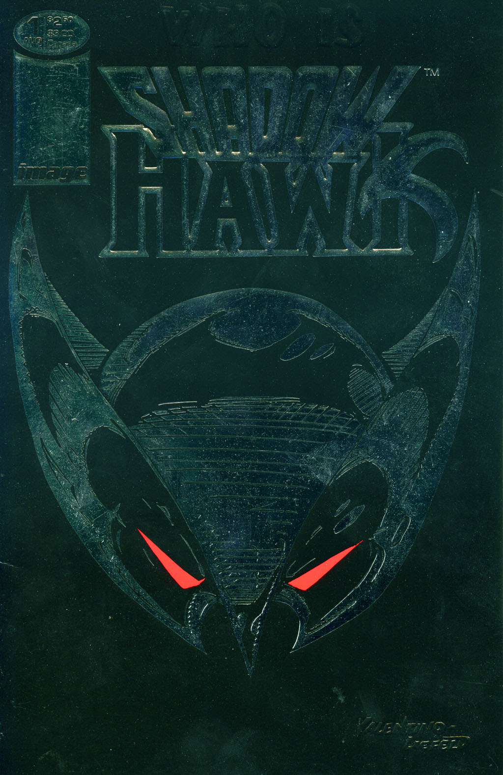 Read online ShadowHawk comic -  Issue #1 - 2