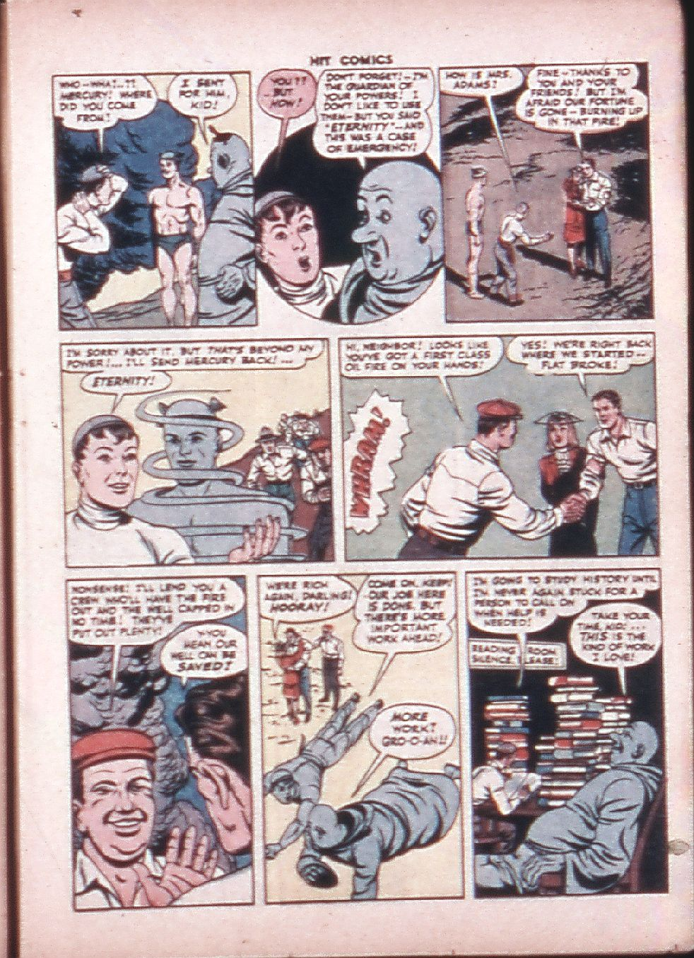 Read online Hit Comics comic -  Issue #33 - 17