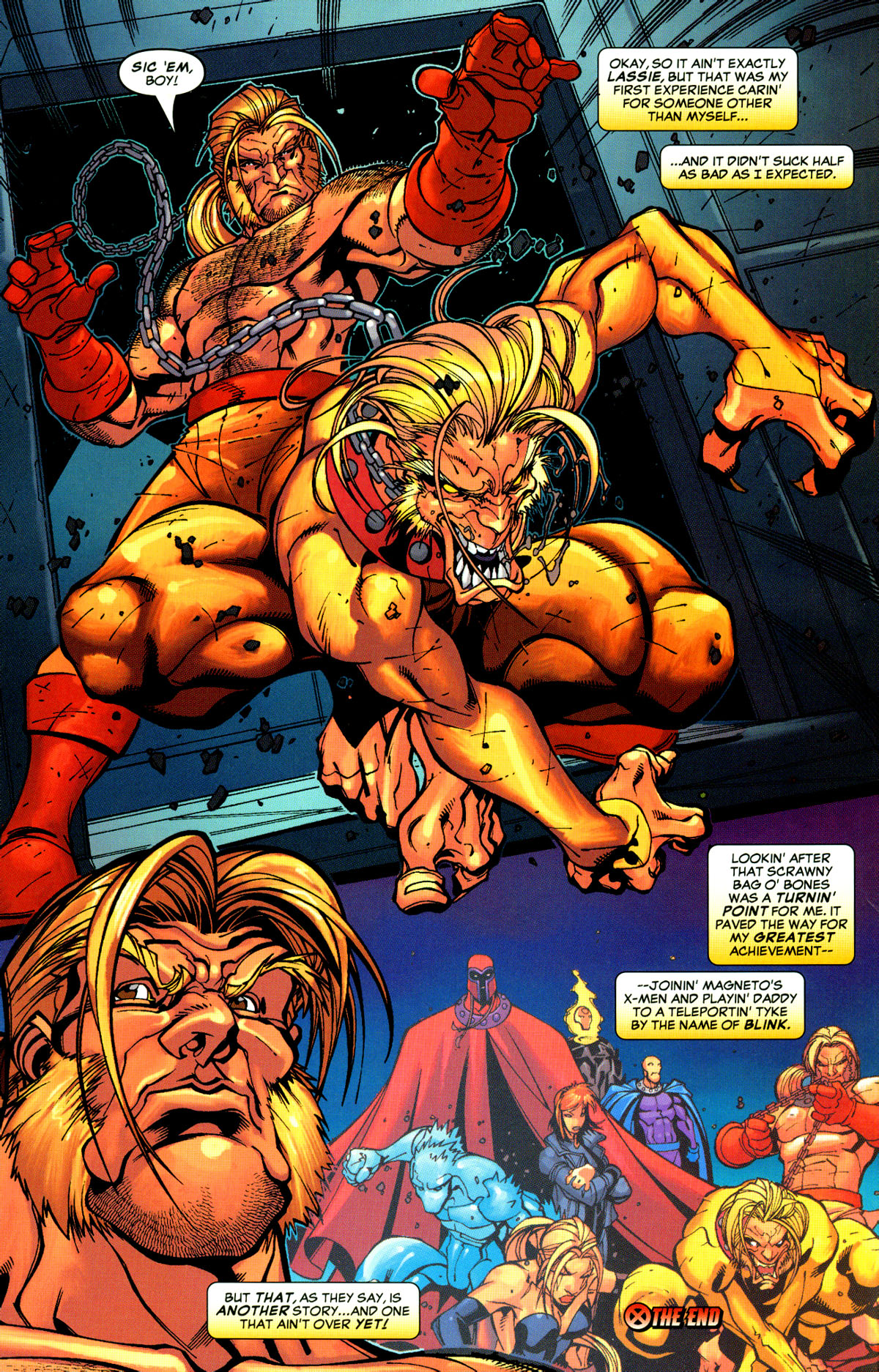 Read online X-Men: Age of Apocalypse One-Shot comic -  Issue # Full - 17