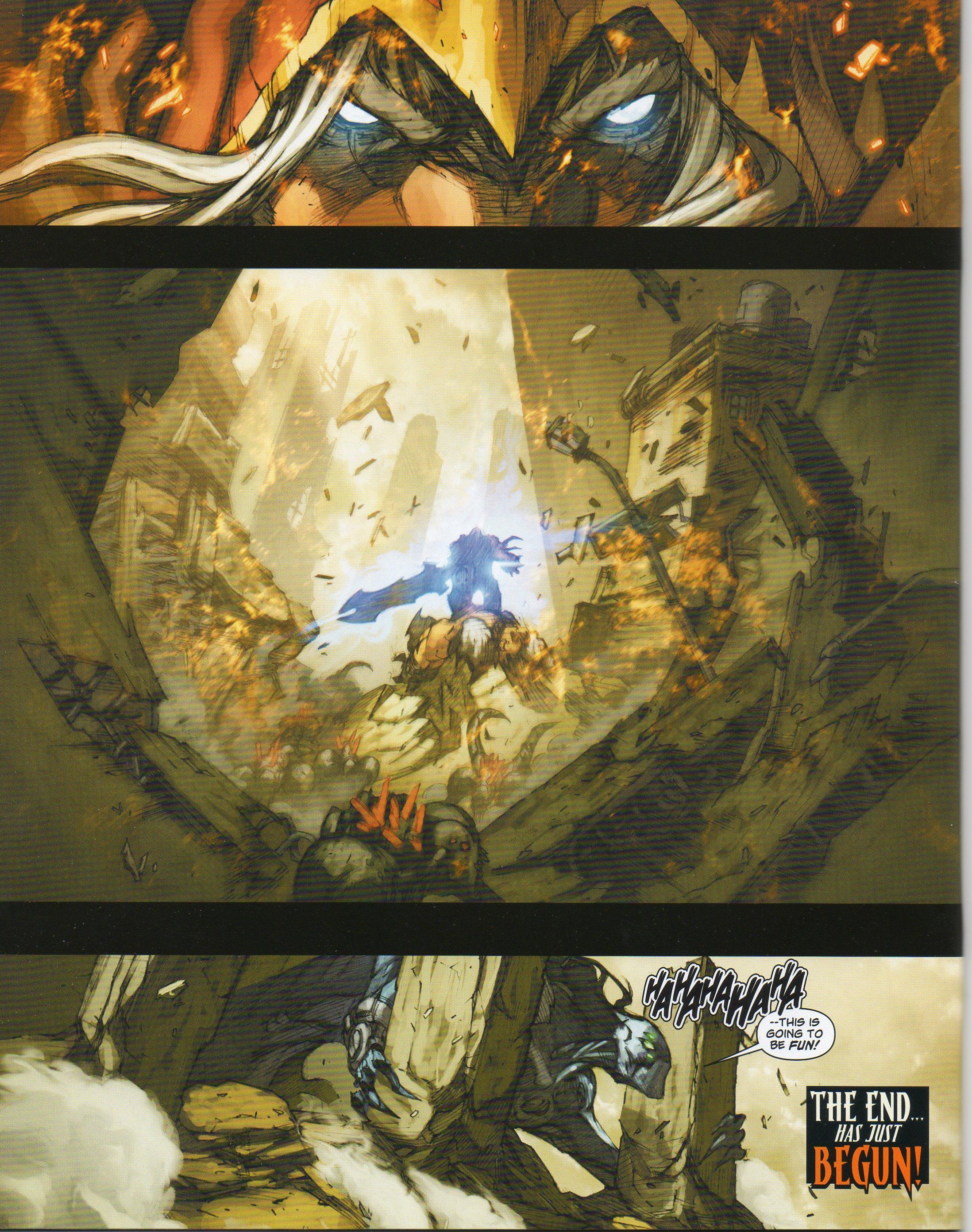 Read online Darksiders comic -  Issue # Full - 24