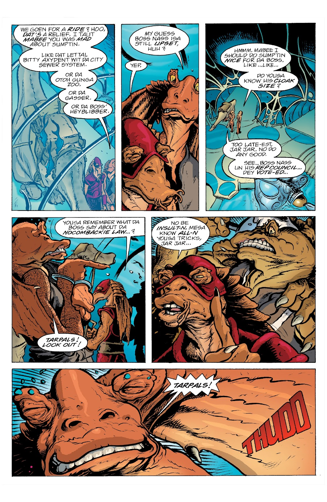 Read online Star Wars Legends: Rise of the Sith - Epic Collection comic -  Issue # TPB 2 (Part 3) - 34
