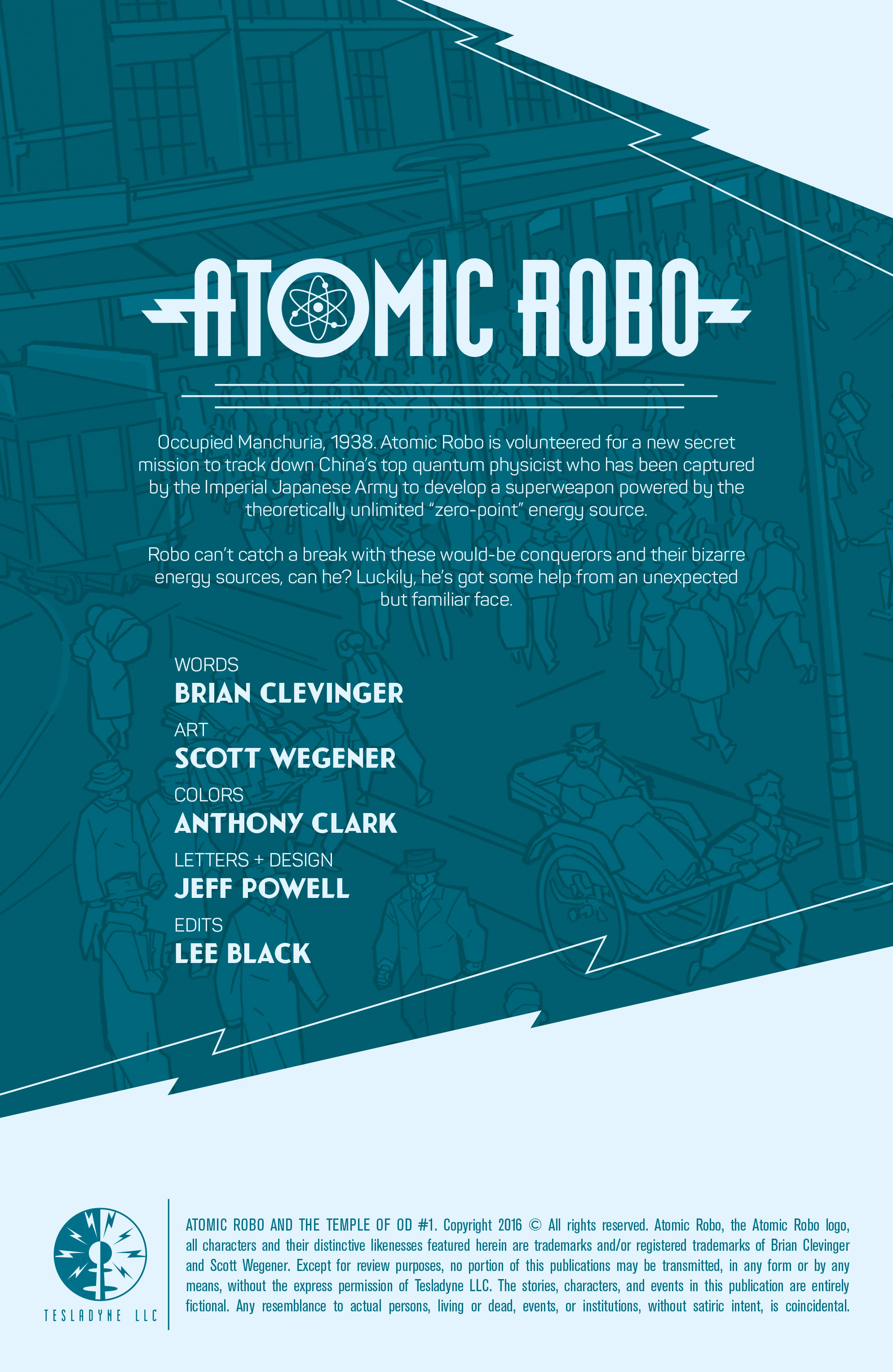 Read online Atomic Robo and the Temple of Od comic -  Issue #1 - 2
