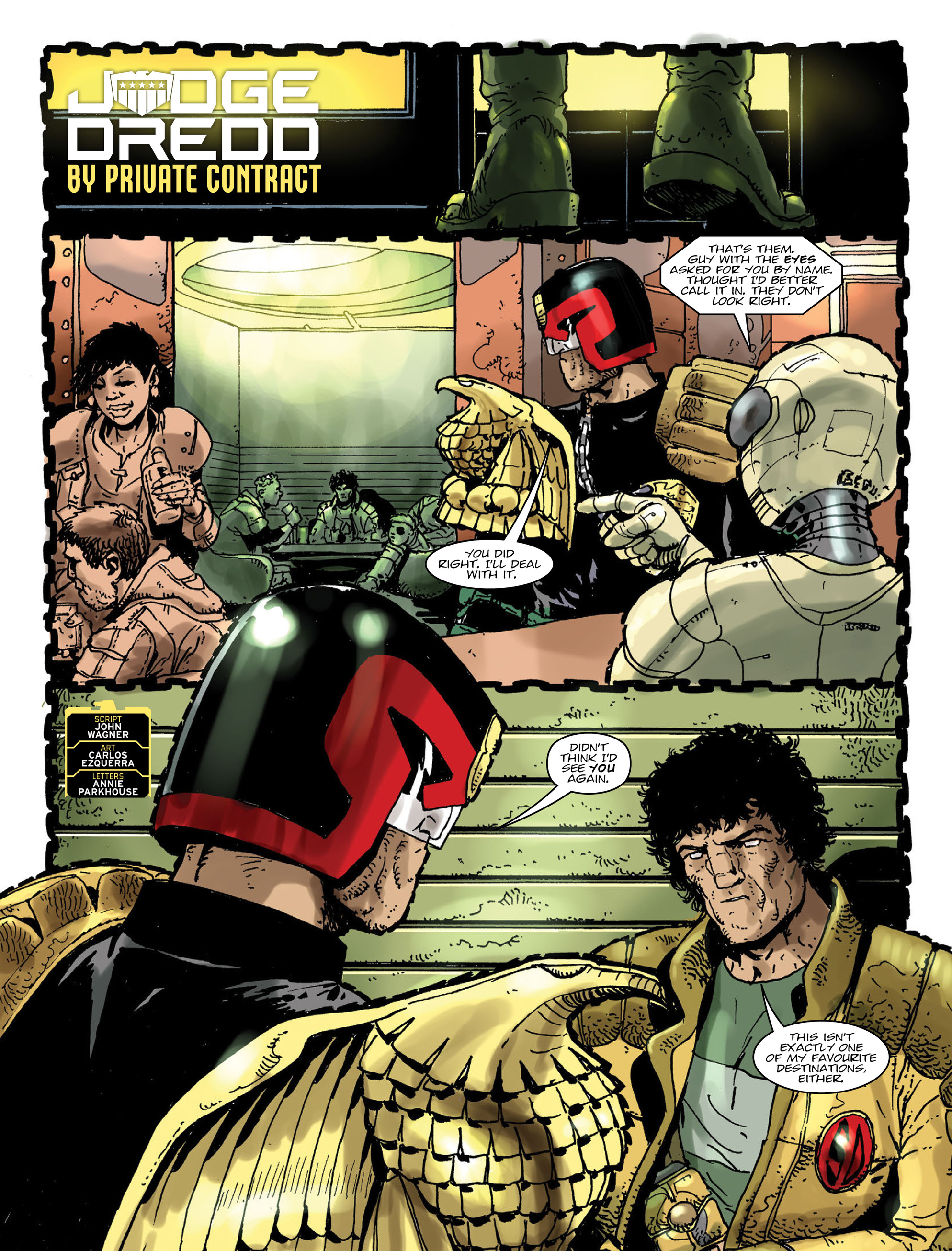 Read online 2000 AD comic -  Issue #2000 - 5
