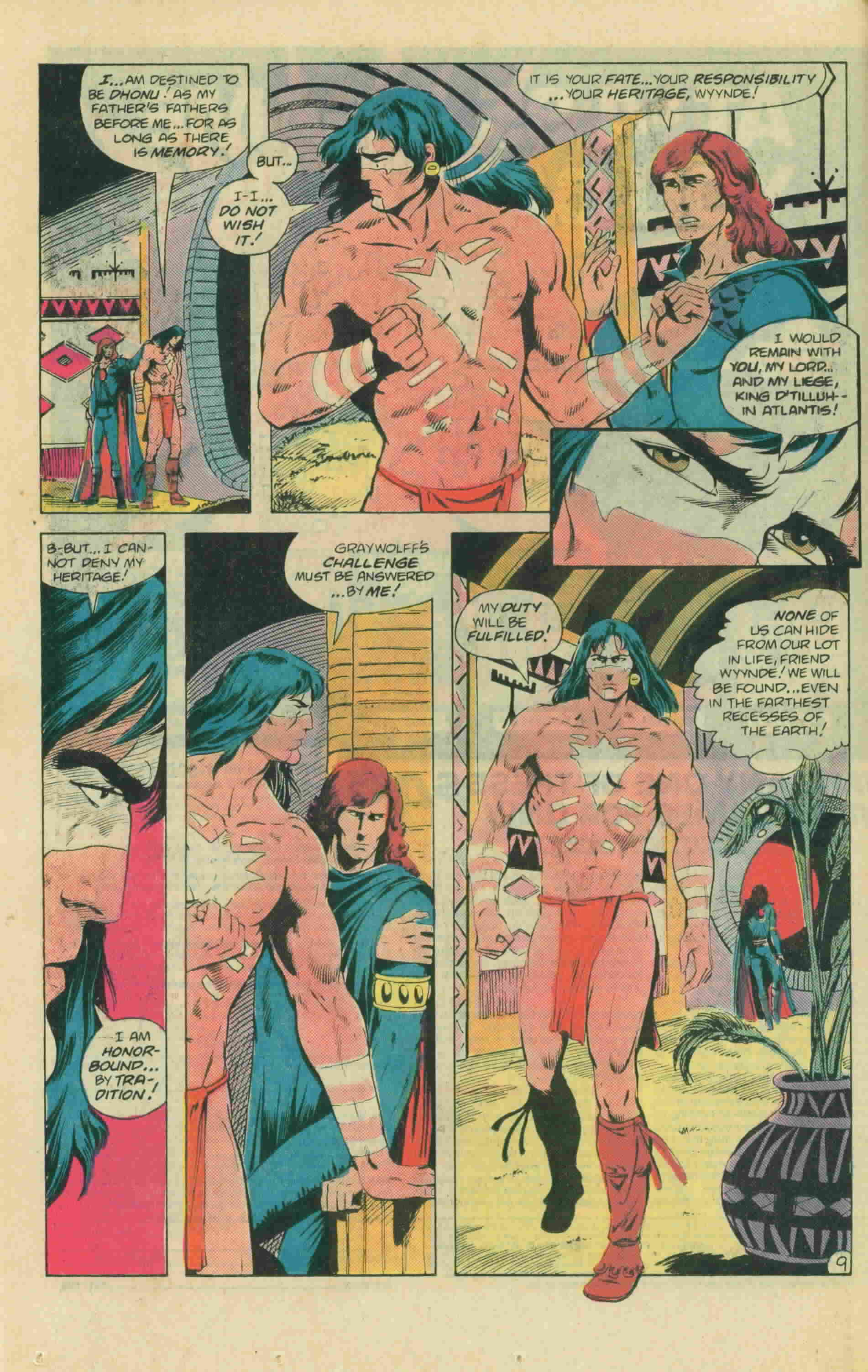 Read online Arion, Lord of Atlantis comic -  Issue #13 - 15