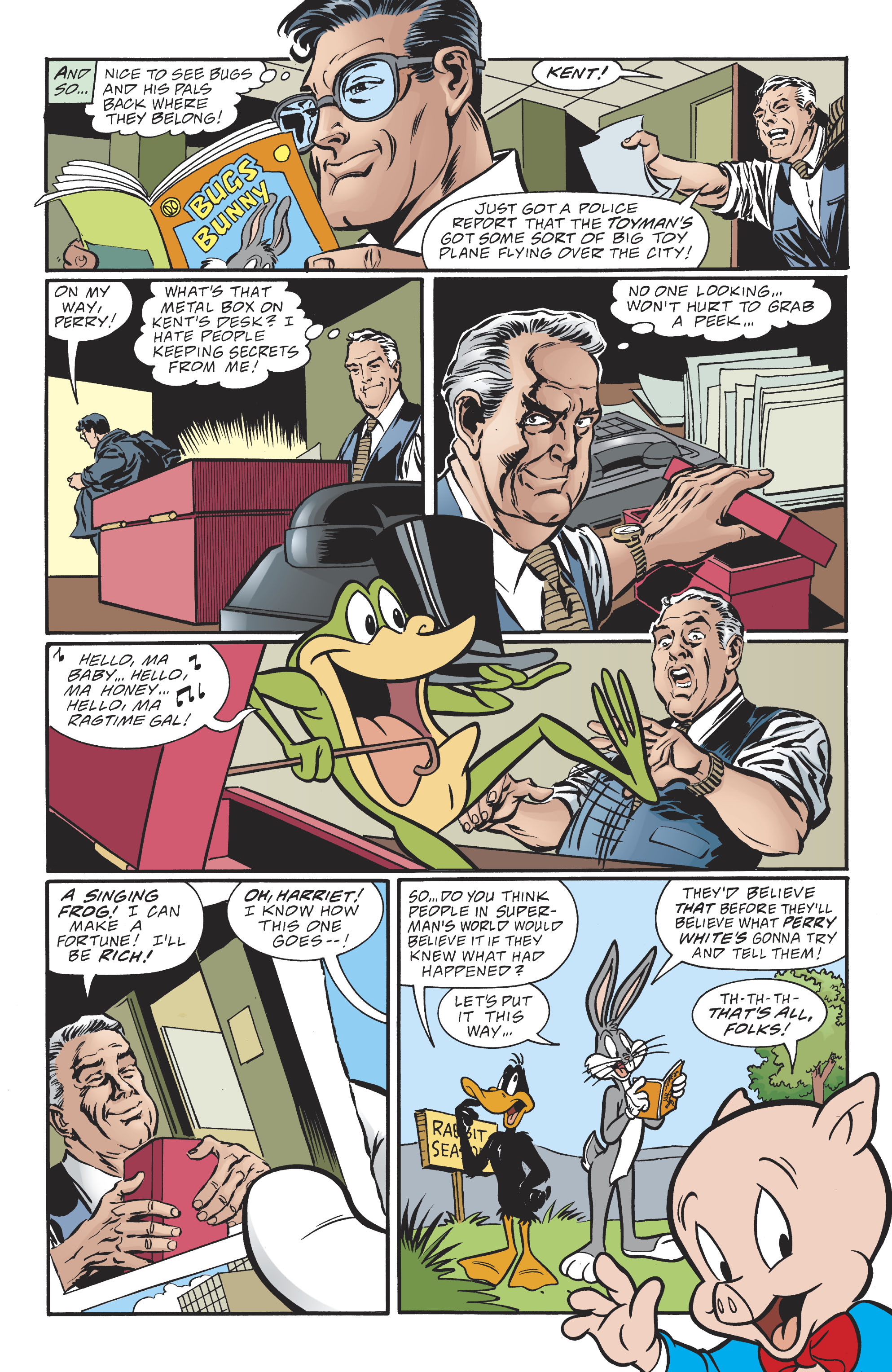 Read online DC/Looney Tunes 100-Page Super Spectacular comic -  Issue # Full - 95