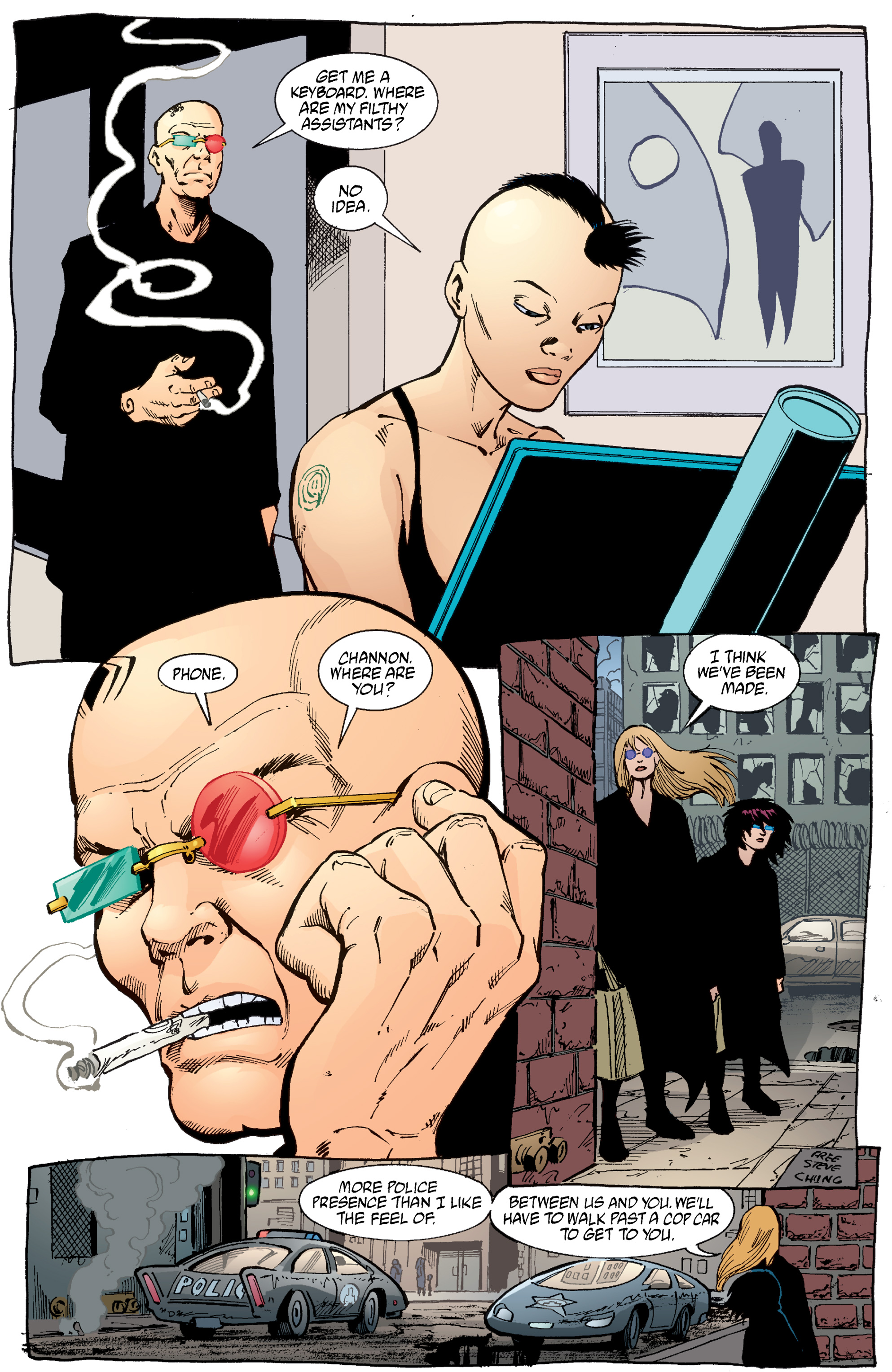 Read online Transmetropolitan comic -  Issue #54 - 8