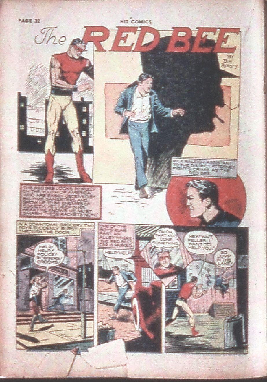 Read online Hit Comics comic -  Issue #8 - 34