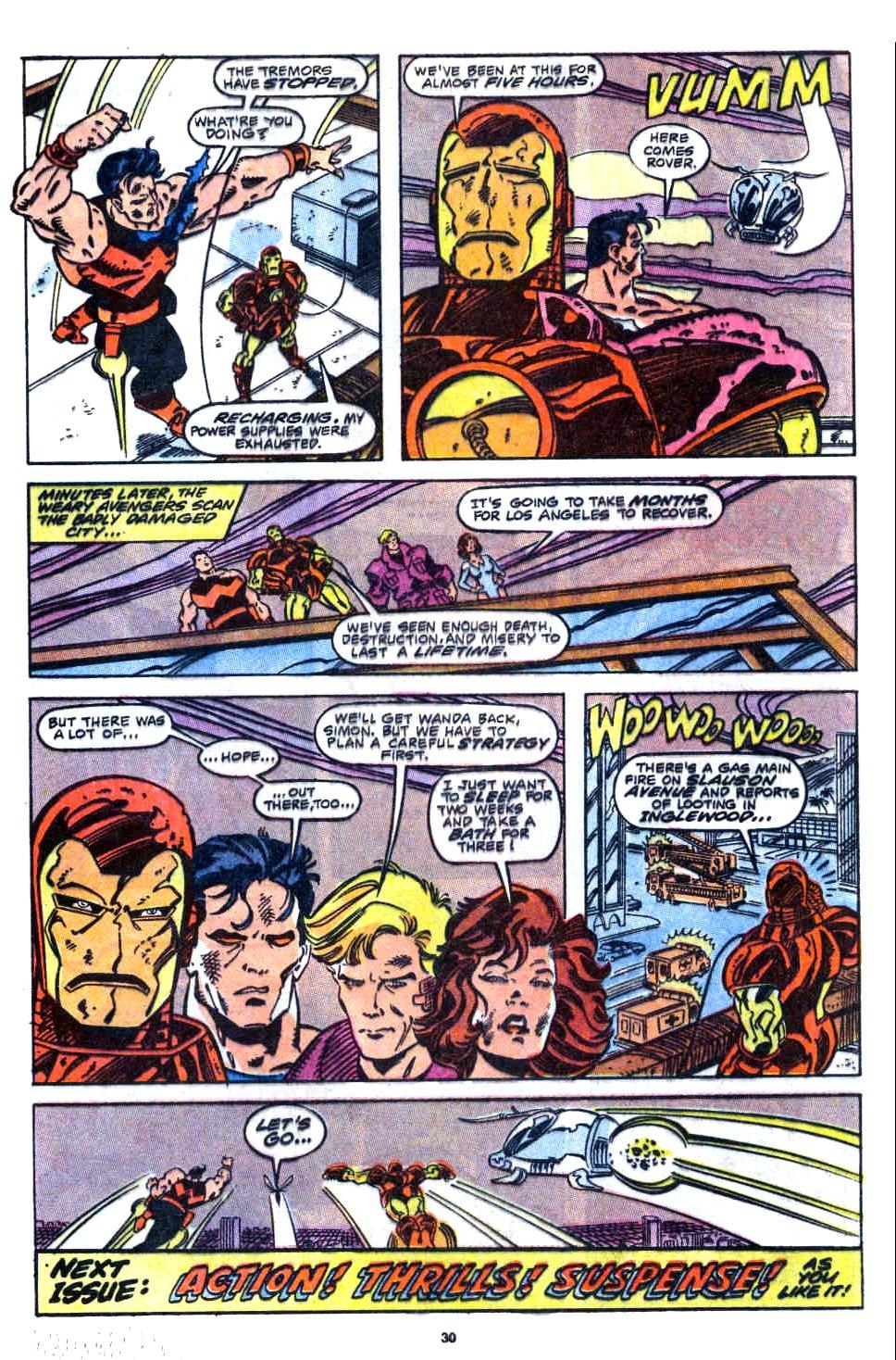 Avengers West Coast (1989) 58 Page 23