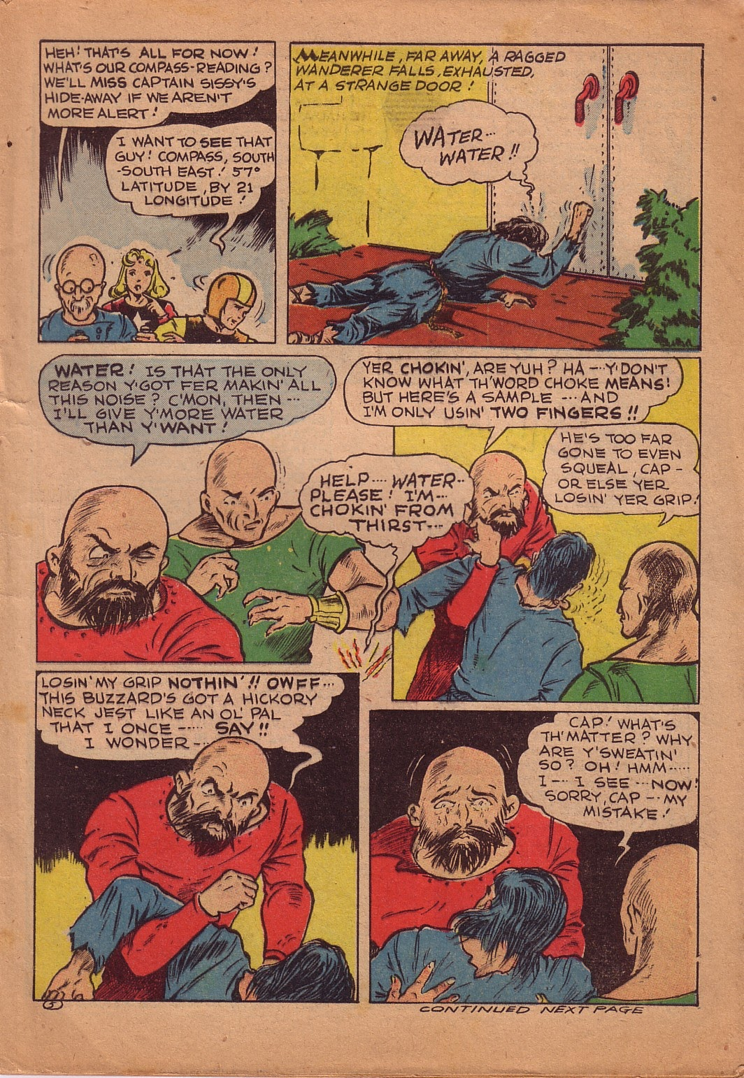 Read online Famous Funnies comic -  Issue #107 - 4