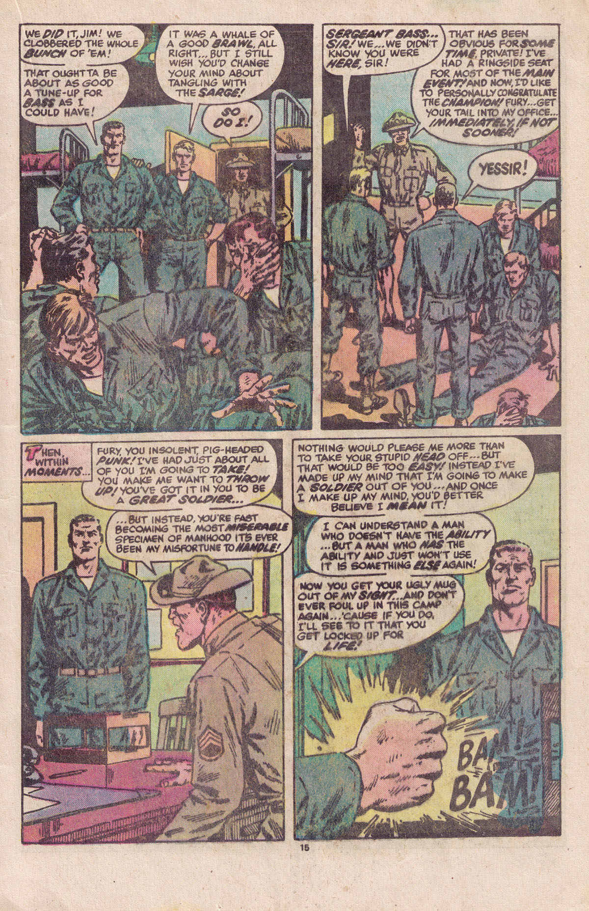 Read online Sgt. Fury comic -  Issue #158 - 17