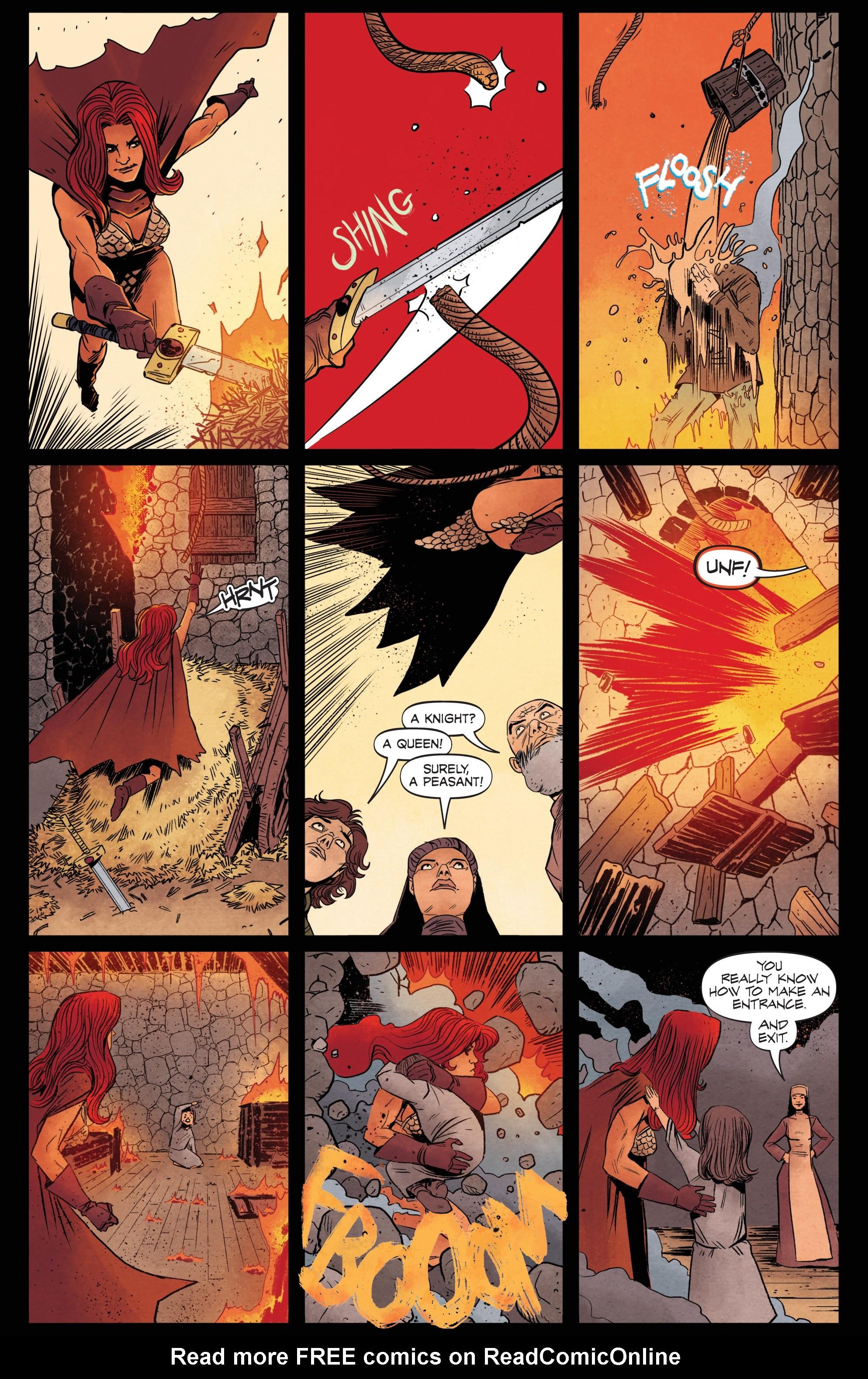 Vampirella/Red Sonja issue 6 - Page 21