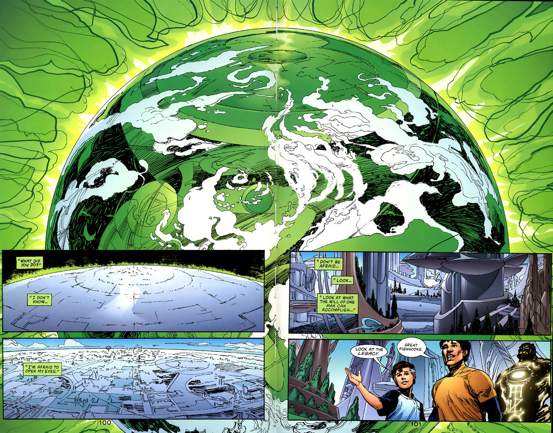 Read online Green Lantern: Legacy: The Last Will and Testament of Hal Jordan comic -  Issue # TPB - 108