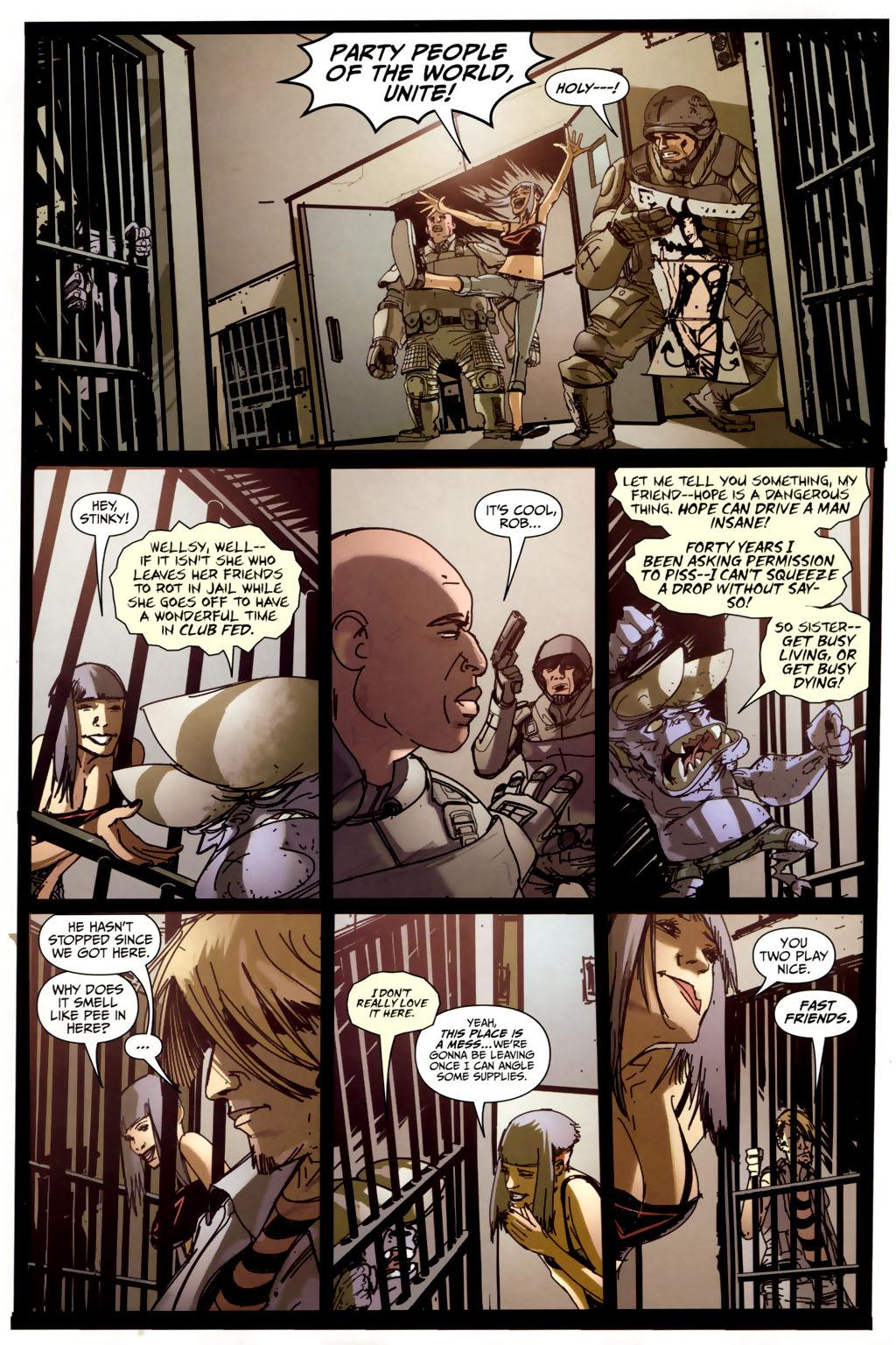 Read online Strange Girl comic -  Issue #6 - 10