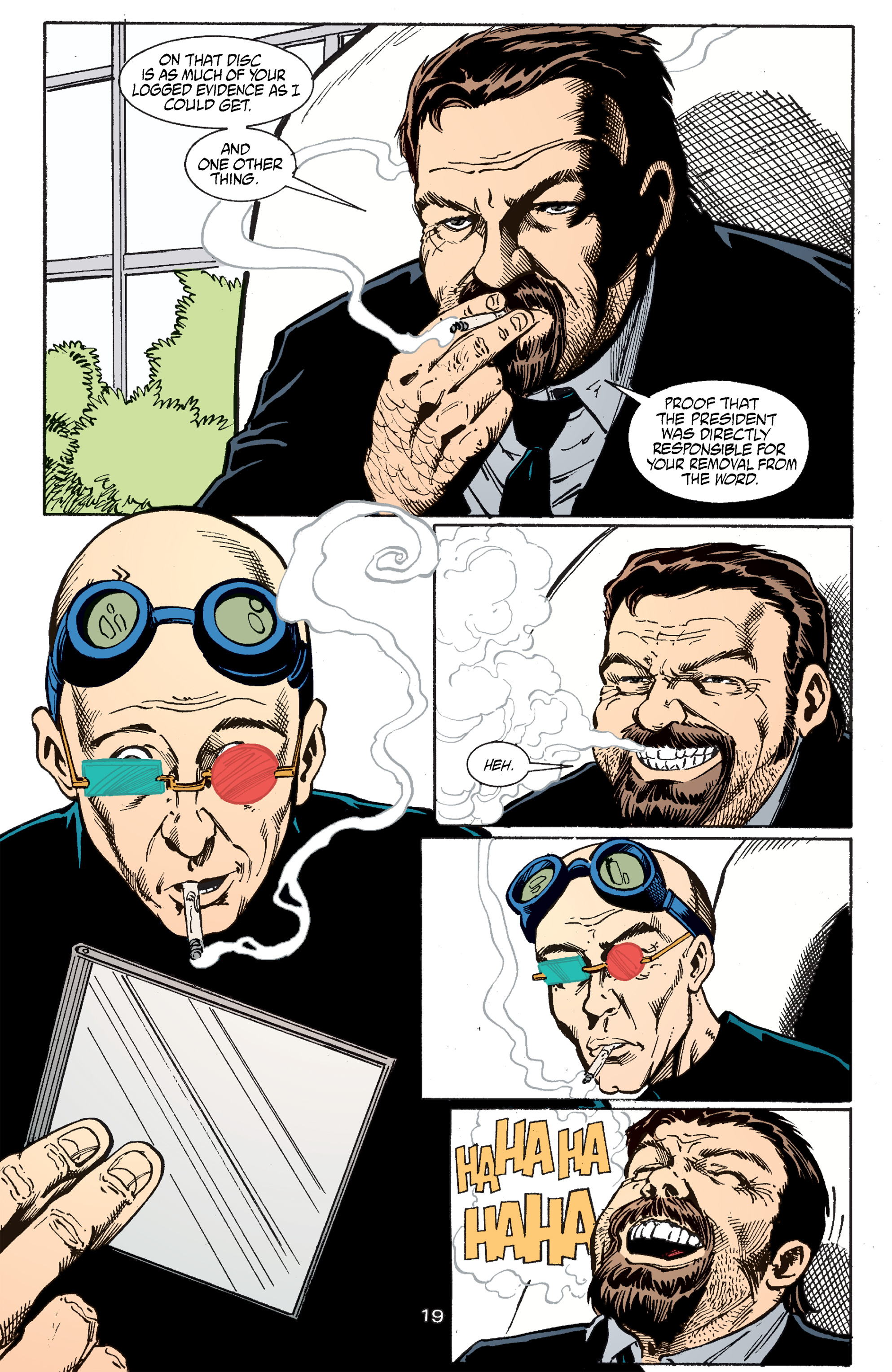 Read online Transmetropolitan comic -  Issue #51 - 20