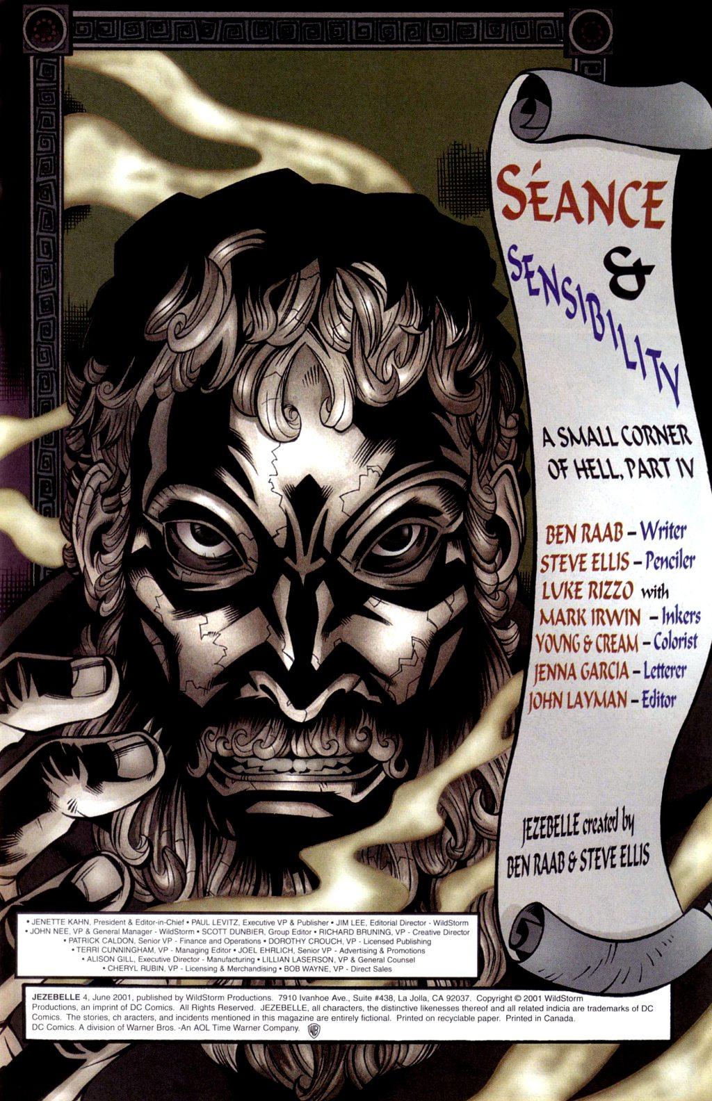 Read online Jezebelle comic -  Issue #4 - 2