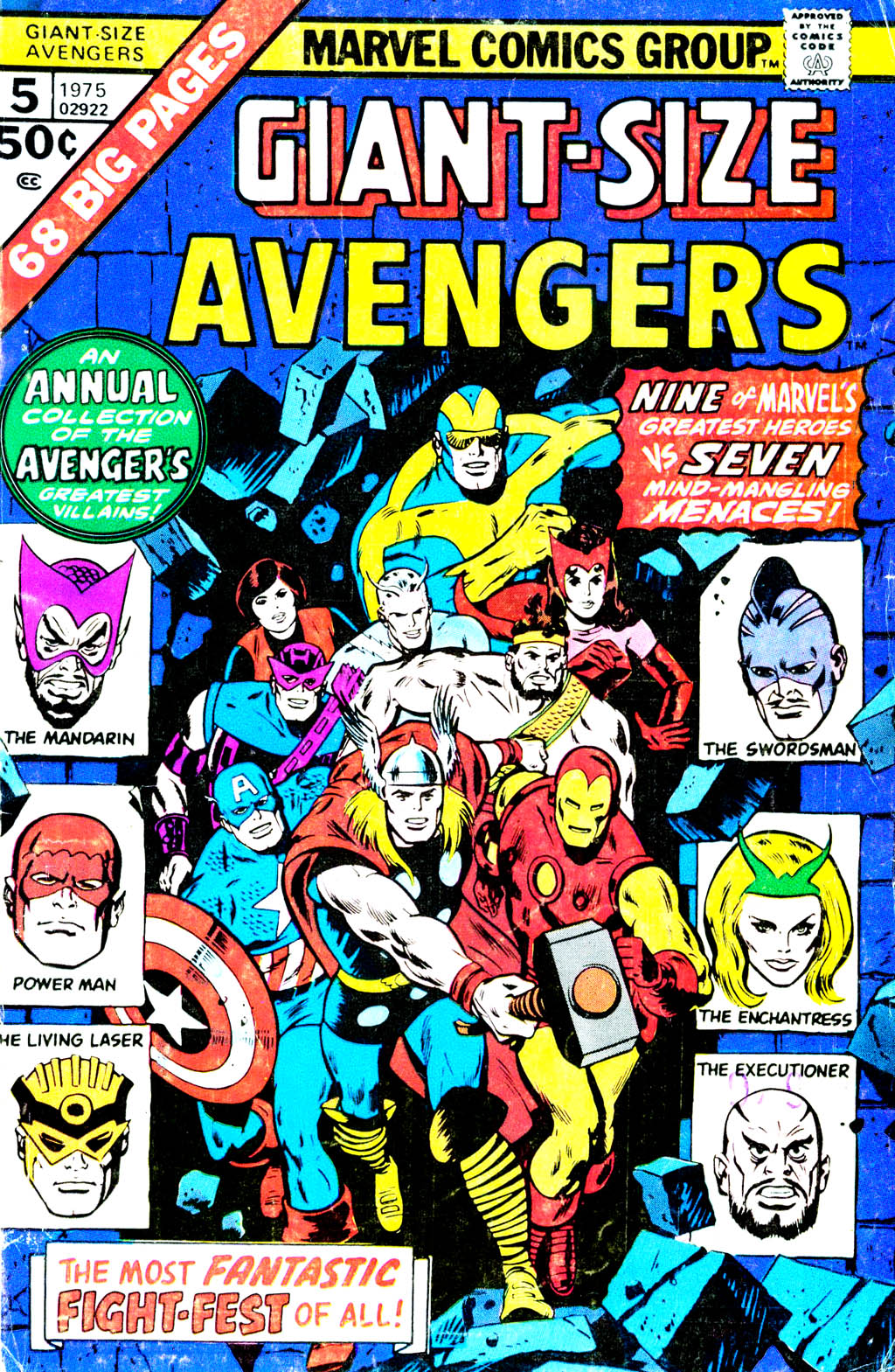 Giant-Size Avengers (1974) issue 5 - Page 1