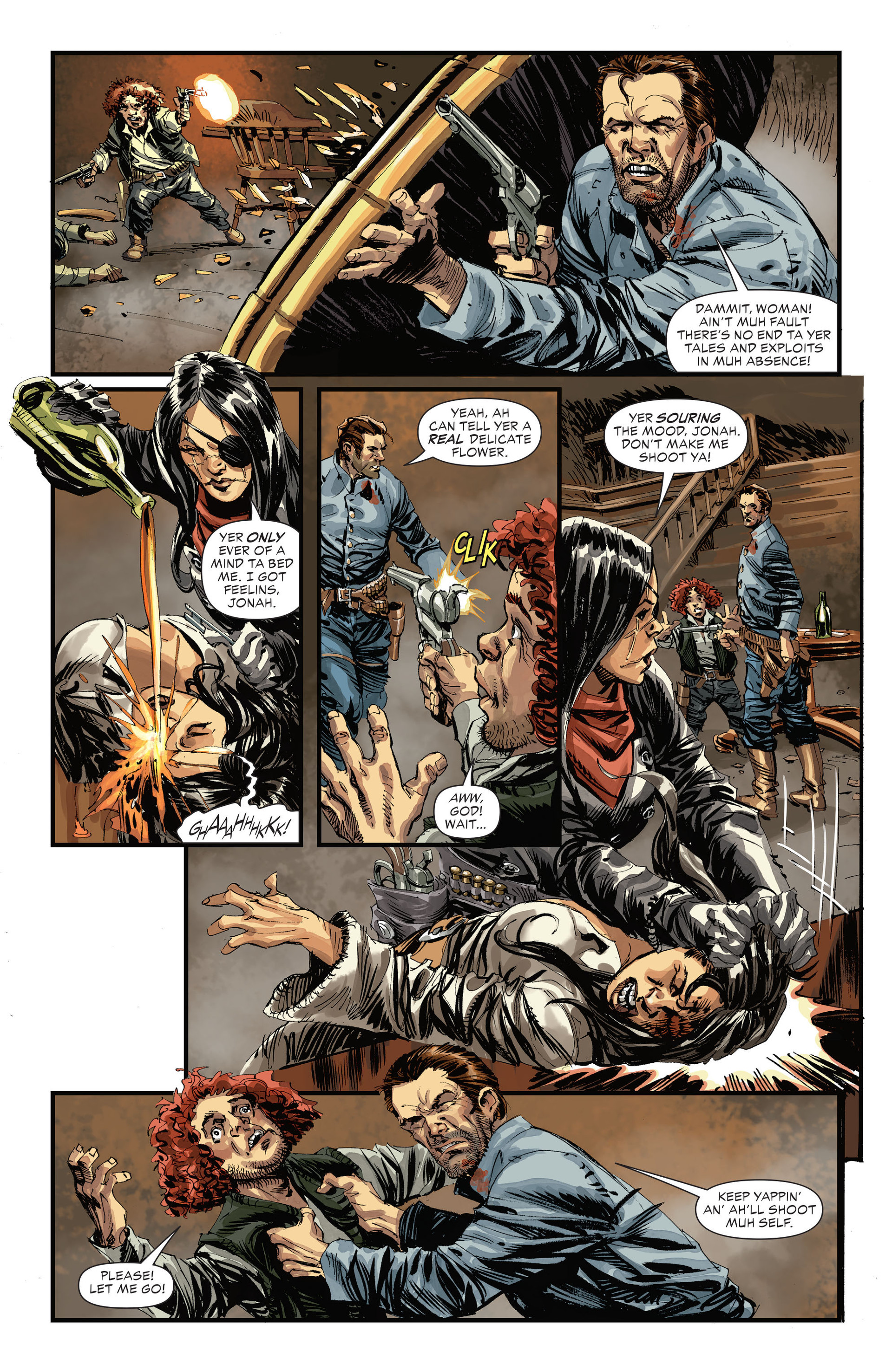 Read online All-Star Western (2011) comic -  Issue #31 - 6