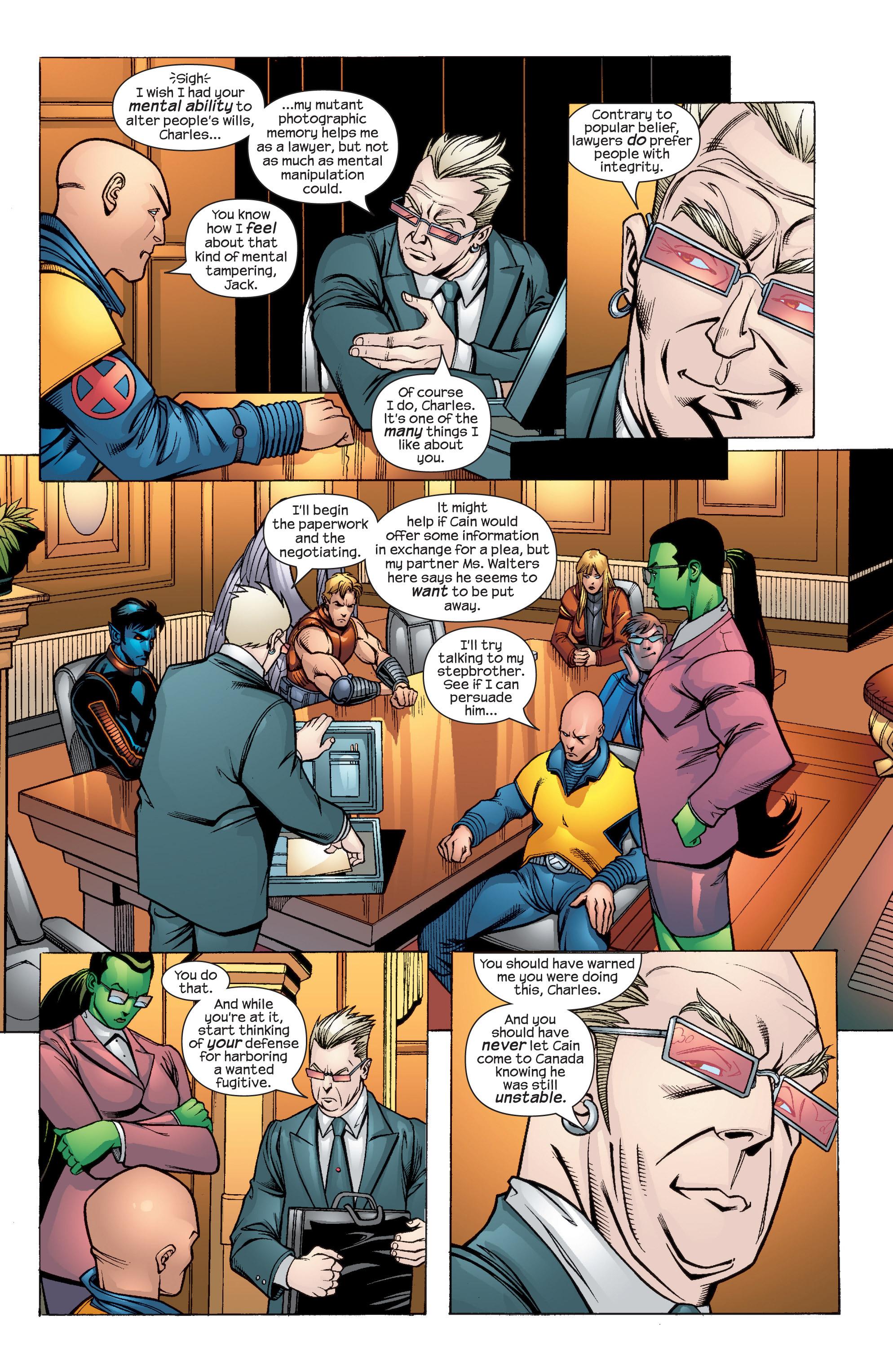 Read online Uncanny X-Men (1963) comic -  Issue #435 - 6