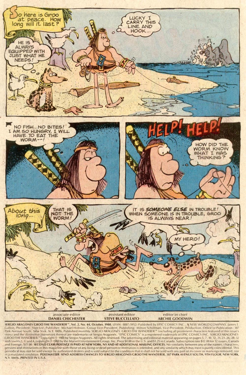 Read online Sergio Aragonés Groo the Wanderer comic -  Issue #44 - 2