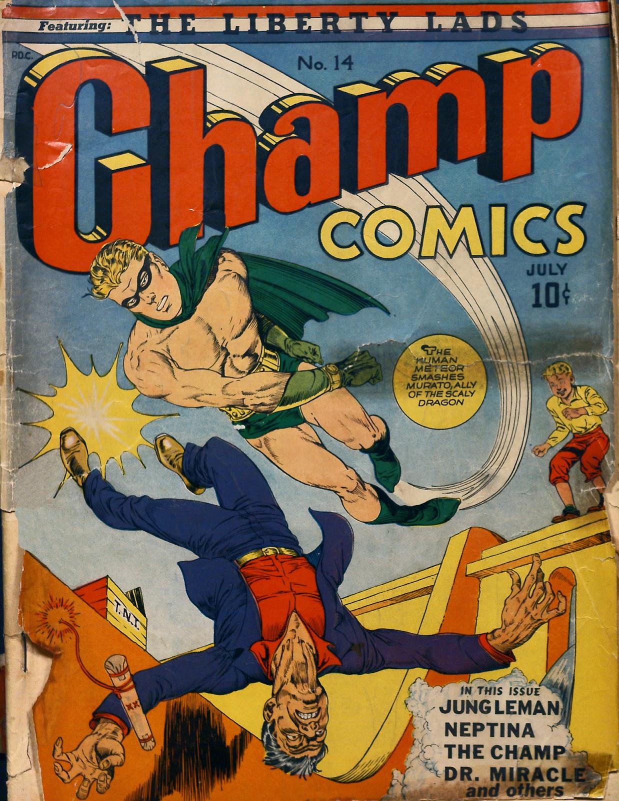 Champ Comics 14 Page 1