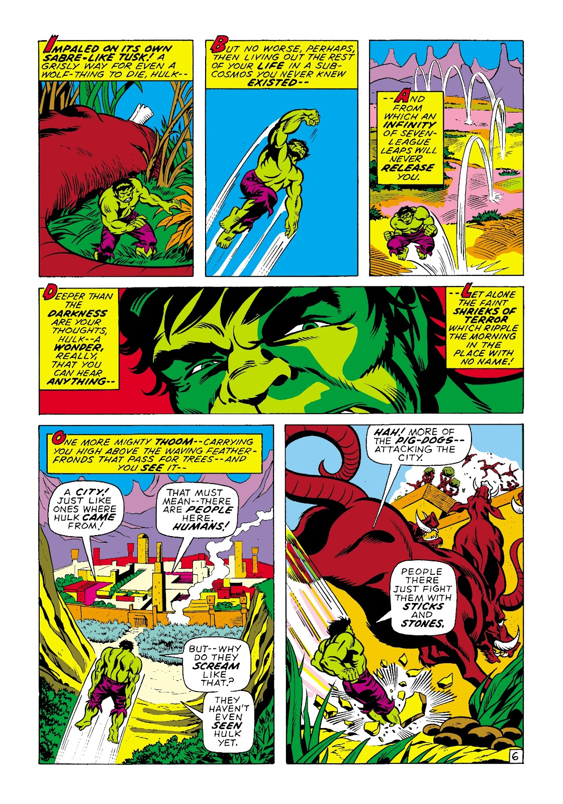 Read online Marvel Masterworks: The Incredible Hulk comic -  Issue # TPB 7 (Part 2) - 33