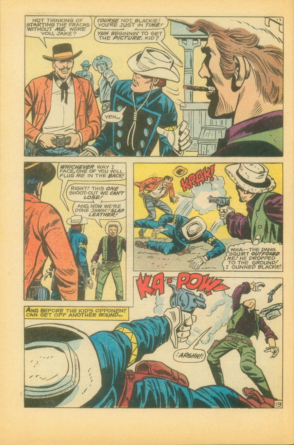 The Rawhide Kid (1955) issue 73 - Page 33